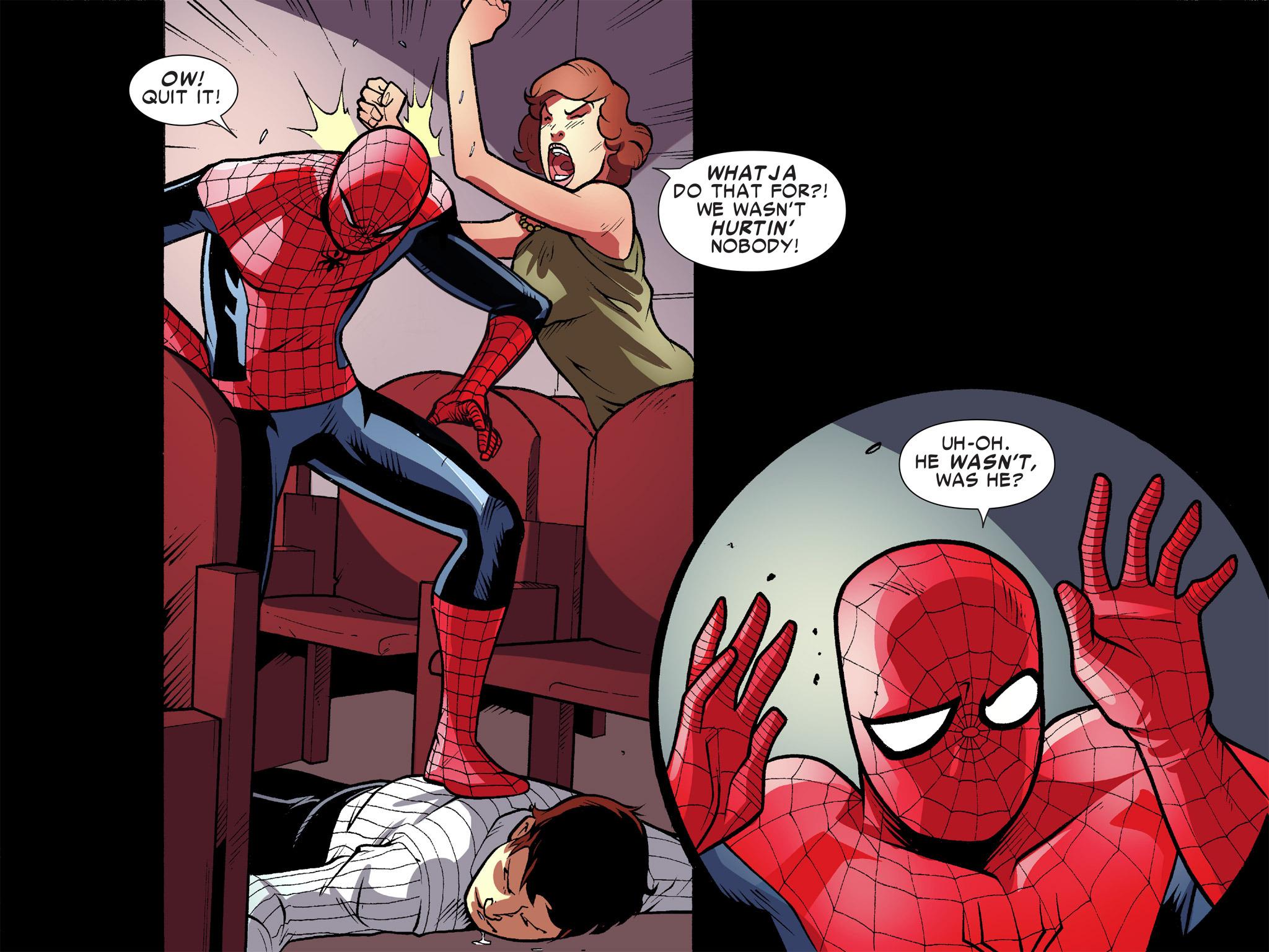 Read online Ultimate Spider-Man (Infinite Comics) (2016) comic -  Issue #10 - 27