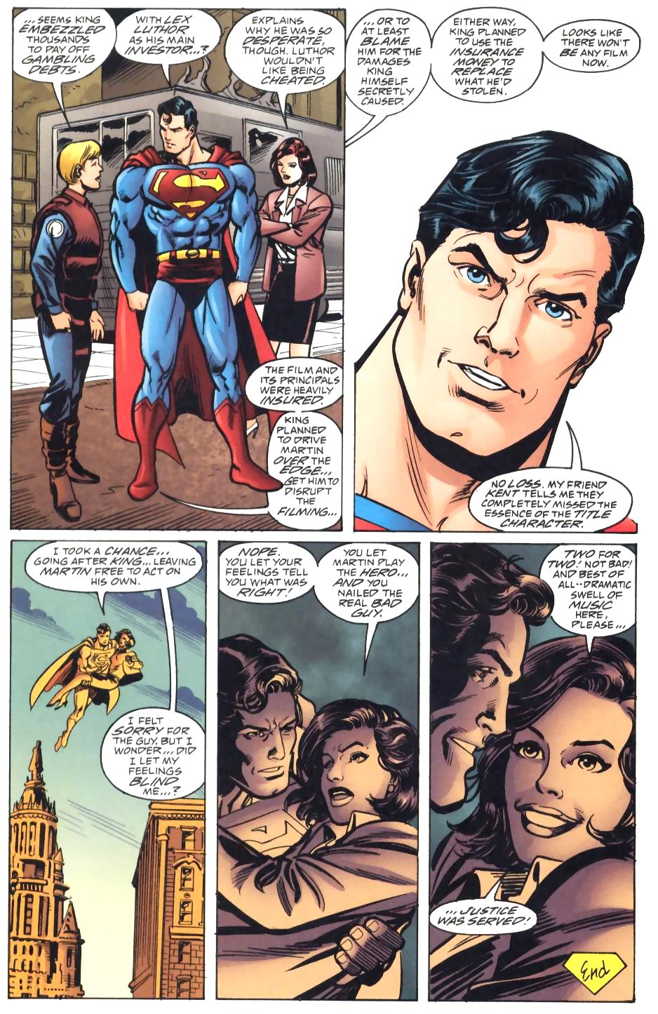 Read online Adventures of Superman (1987) comic -  Issue #571 - 24