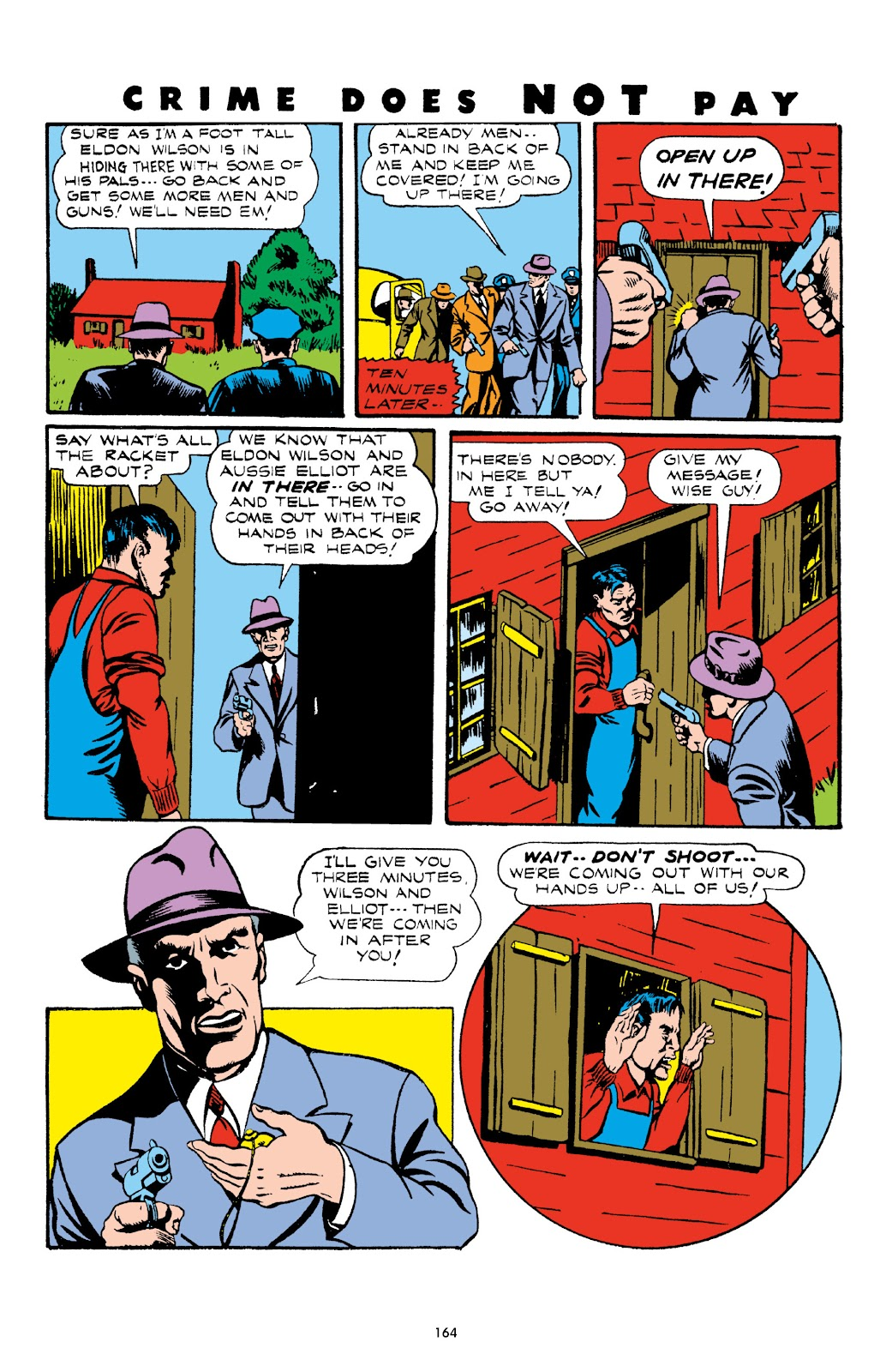Read online Crime Does Not Pay Archives comic -  Issue # TPB 3 (Part 2) - 64
