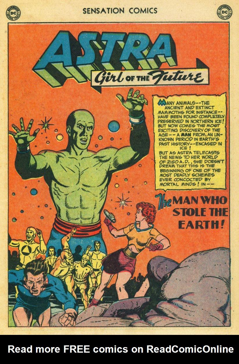 Read online Sensation (Mystery) Comics comic -  Issue #104 - 27