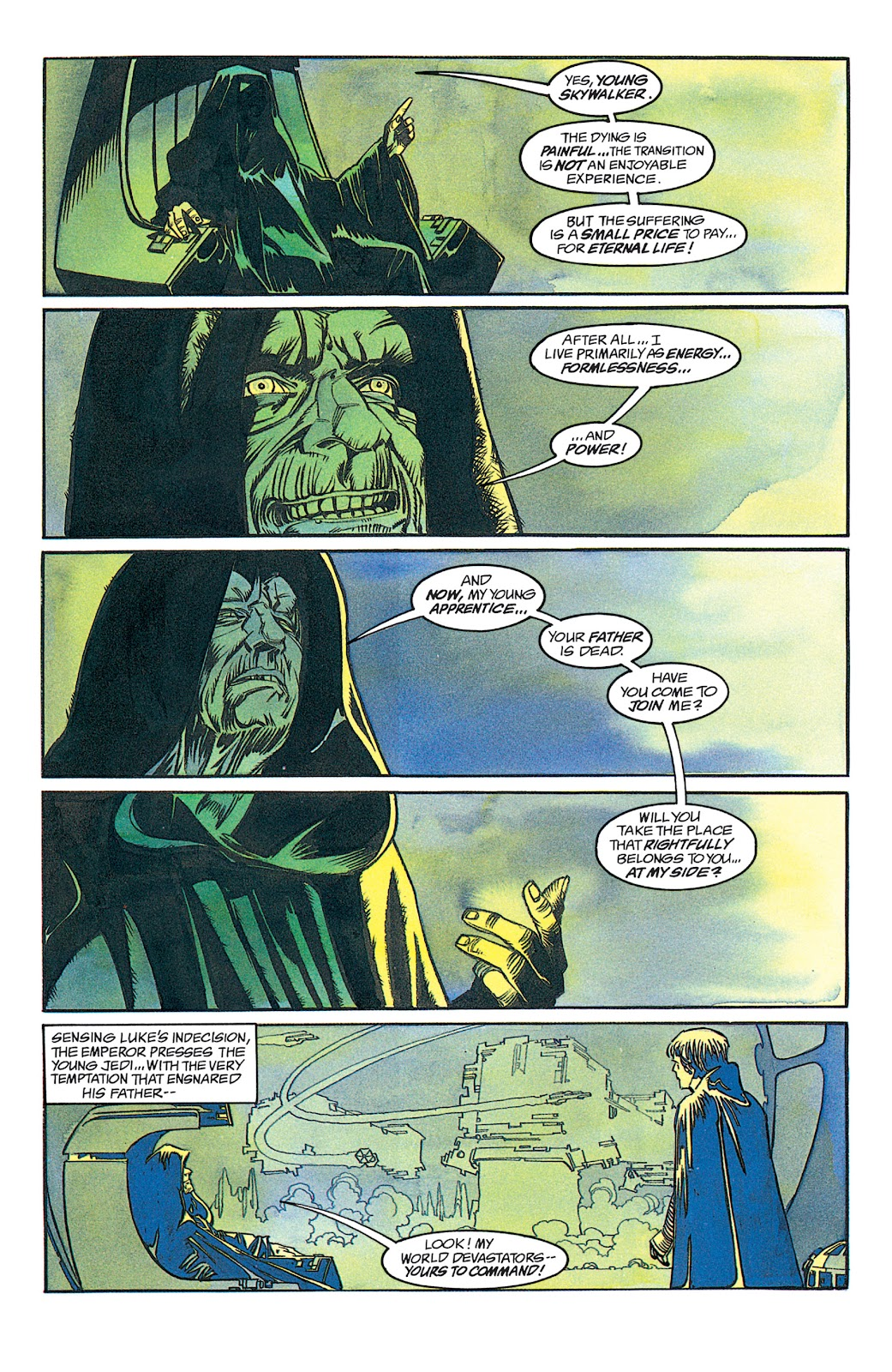 Read online Star Wars: Dark Empire Trilogy comic -  Issue # TPB (Part 1) - 49
