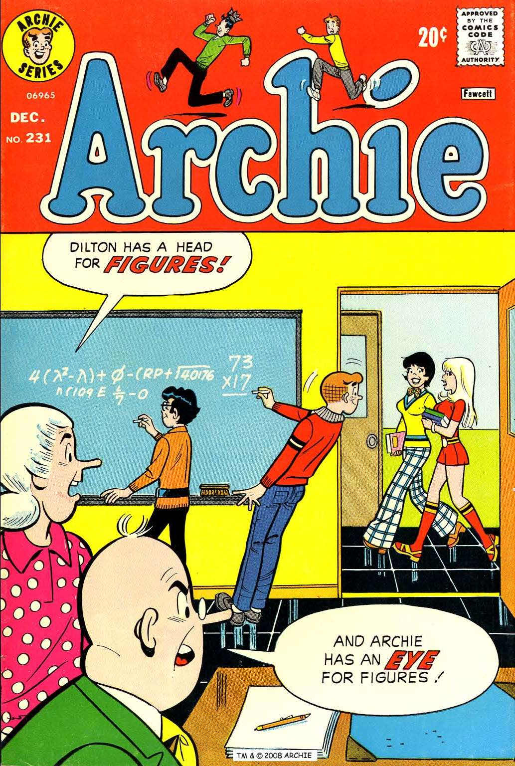 Read online Archie (1960) comic -  Issue #231 - 1