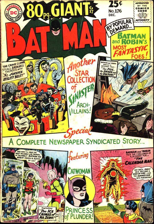 Batman (1940) 176 Page 1