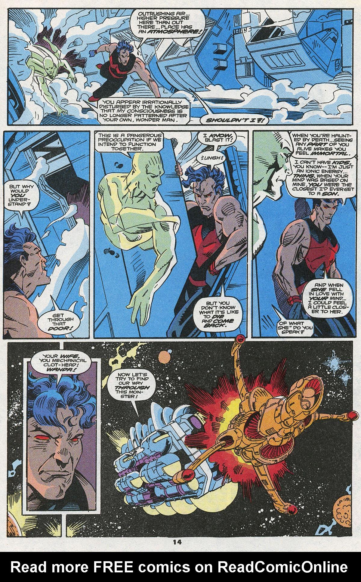 Read online Wonder Man (1991) comic -  Issue #8 - 9