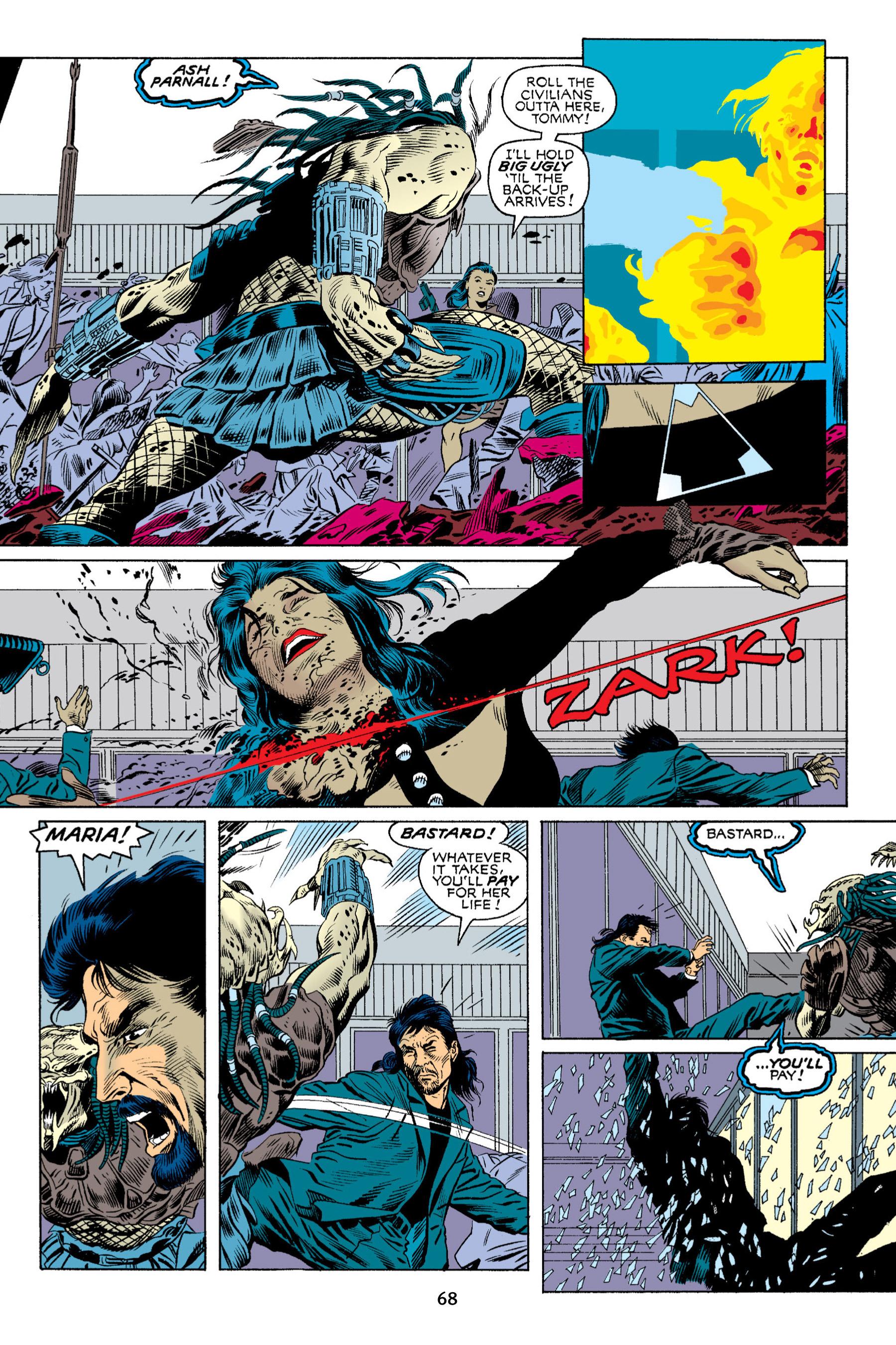Read online Aliens vs. Predator Omnibus comic -  Issue # _TPB 2 Part 1 - 67