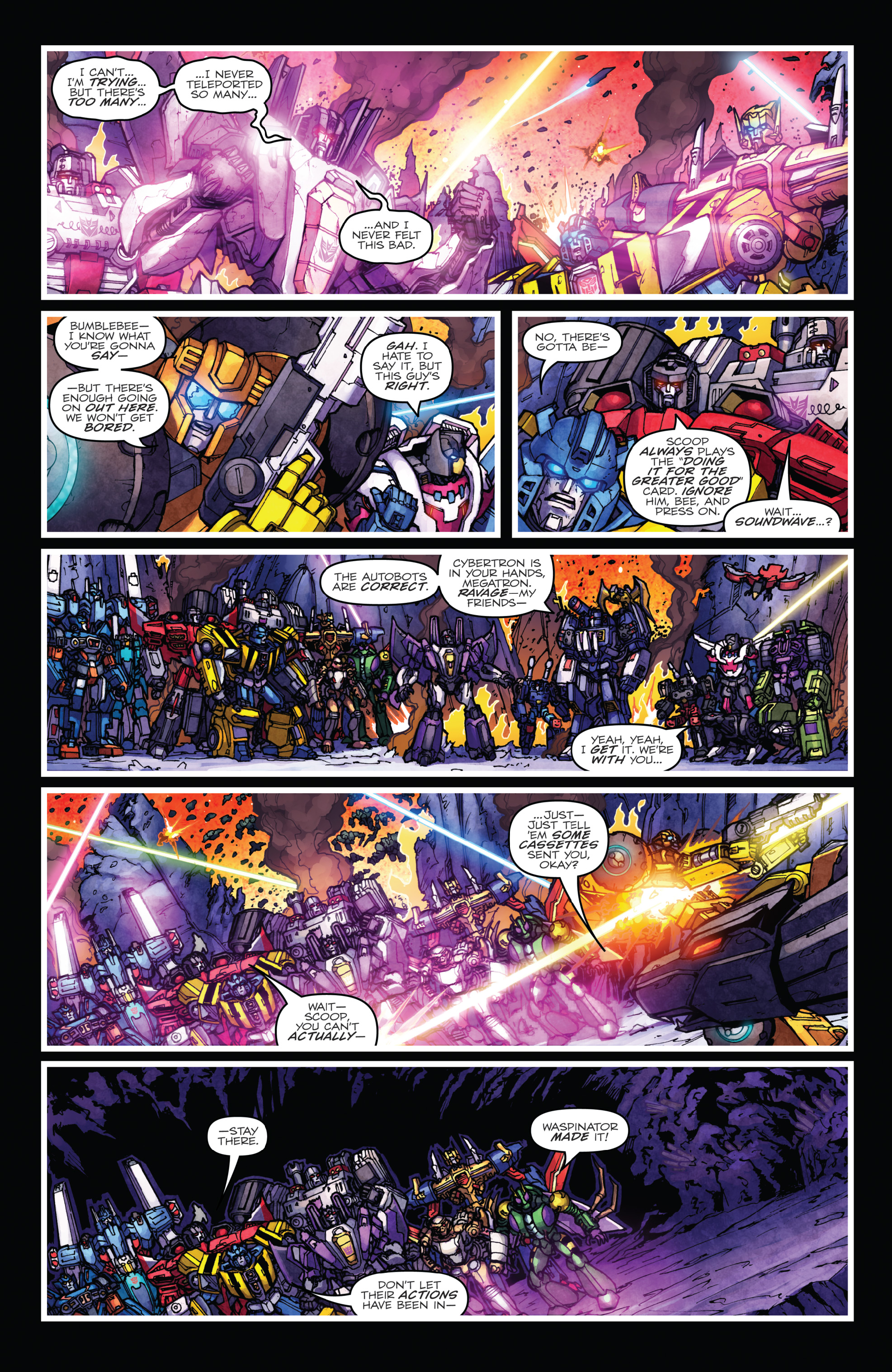 Read online The Transformers: Dark Cybertron Finale comic -  Issue # Full - 114