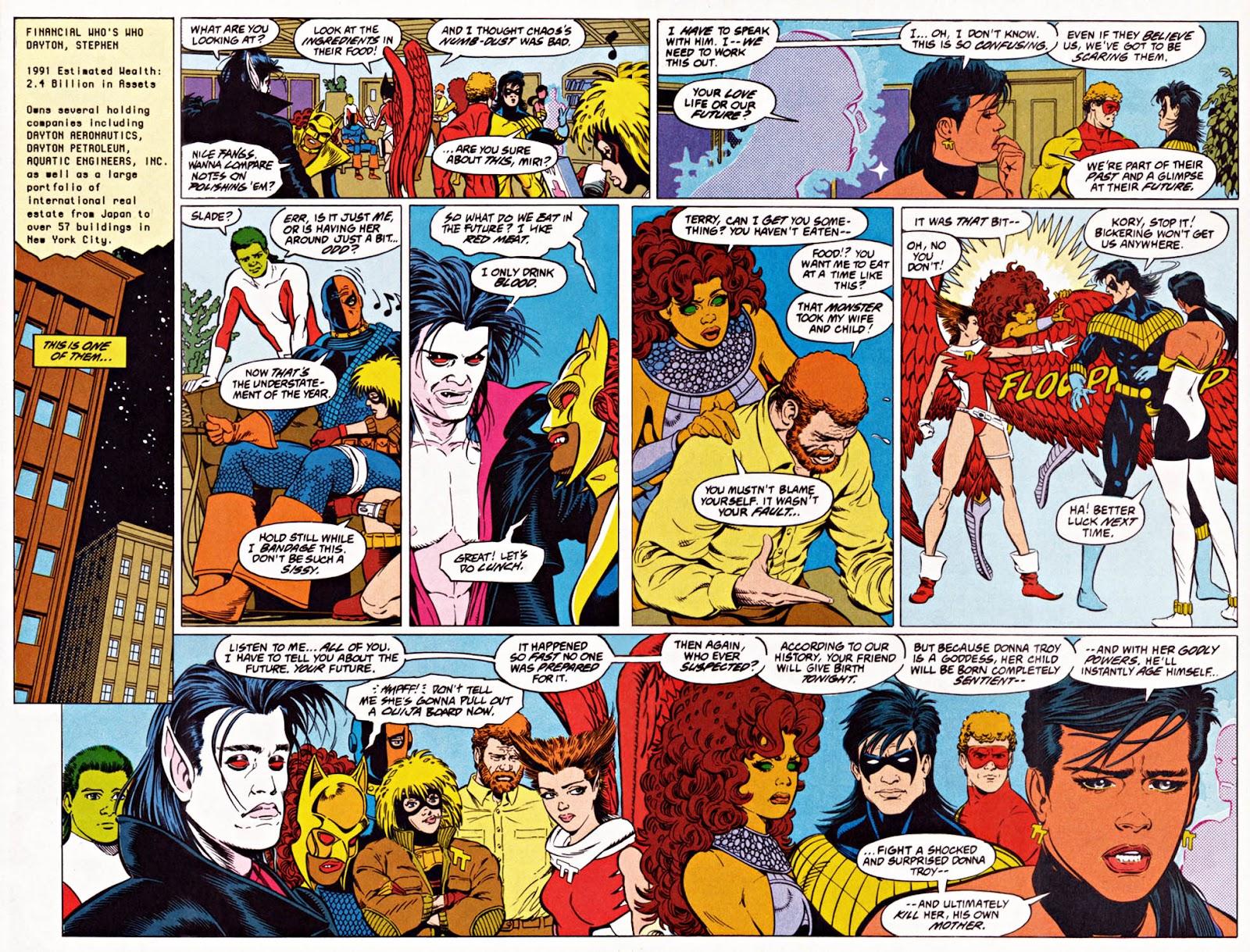 Read online Team Titans comic -  Issue #1e - 30