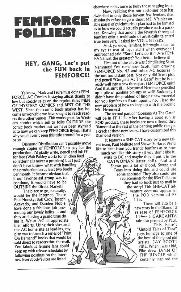 Femforce Issue #113 #113 - English 41