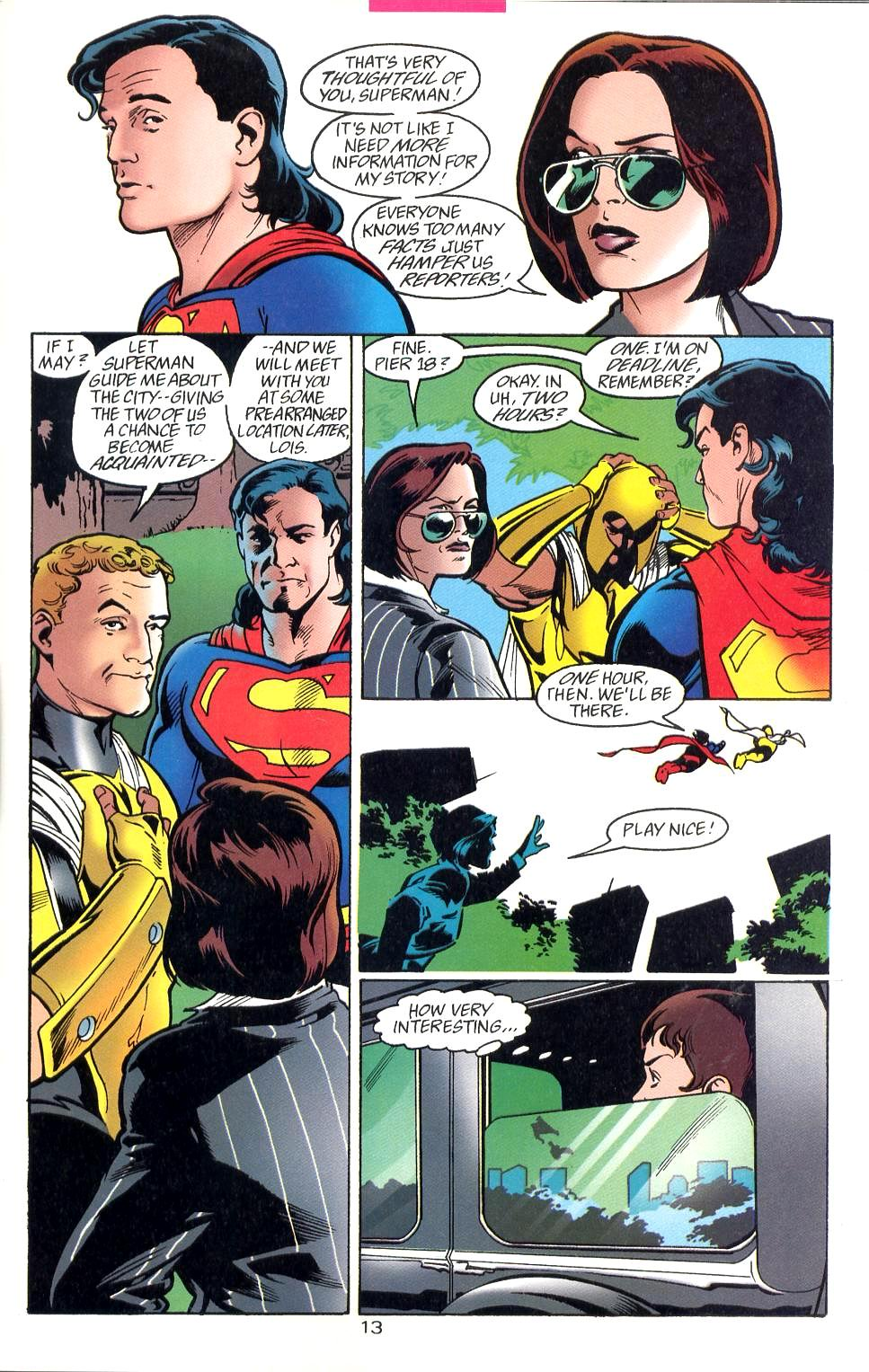 Read online Adventures of Superman (1987) comic -  Issue #527 - 14