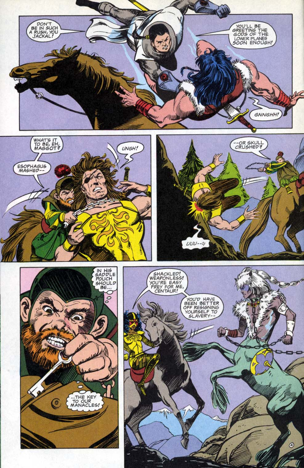 Read online Advanced Dungeons & Dragons comic -  Issue #3 - 4
