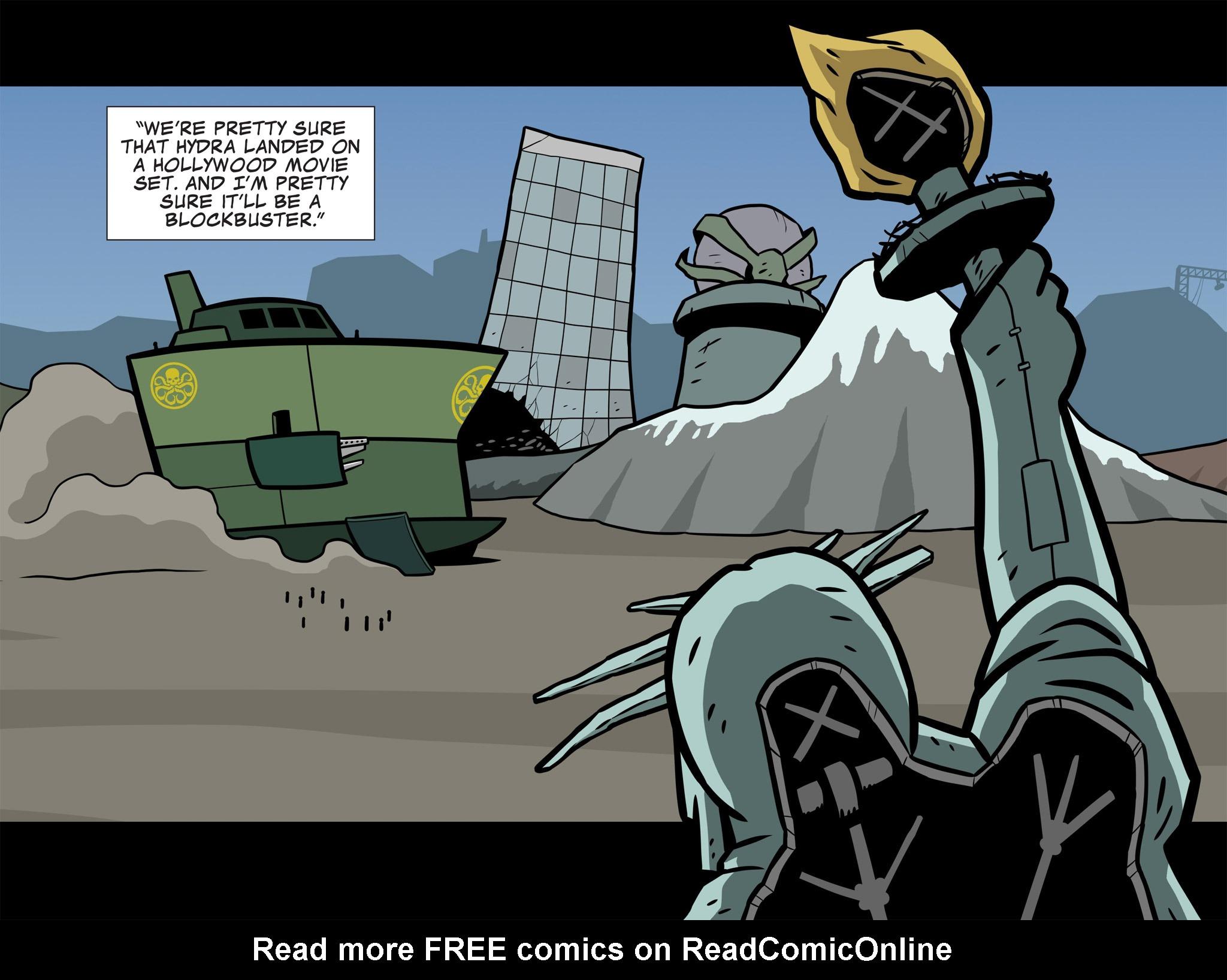 Read online Ultimate Spider-Man (Infinite Comics) (2015) comic -  Issue #11 - 37