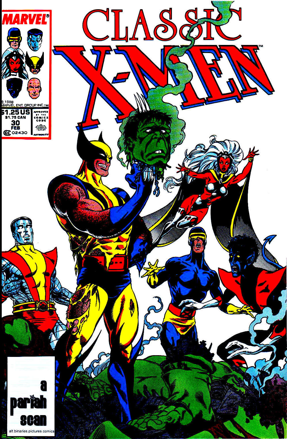 Classic X-Men 30 Page 1