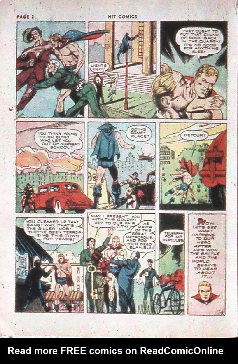 Read online Hit Comics comic -  Issue #10 - 4
