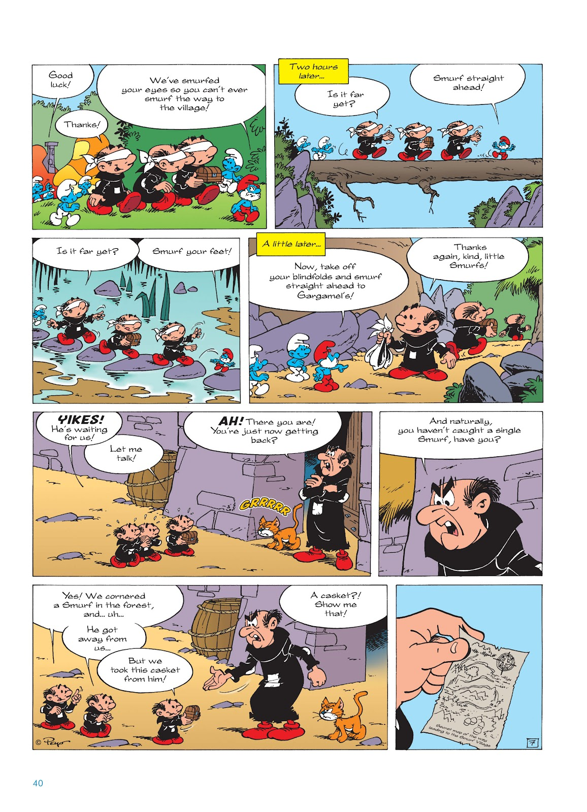 Read online The Smurfs comic -  Issue #17 - 40