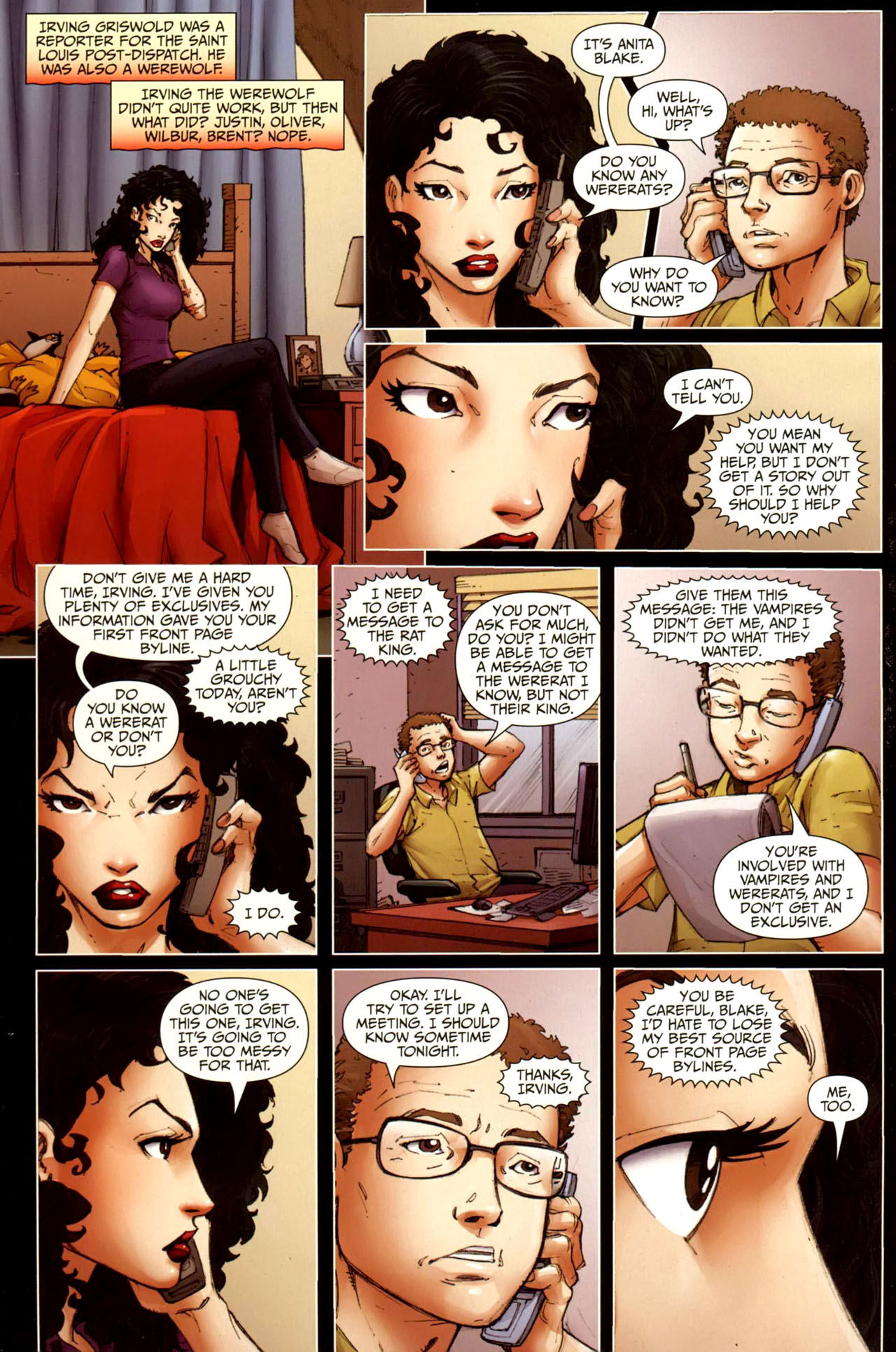 Read online Anita Blake, Vampire Hunter: Guilty Pleasures comic -  Issue #10 - 16