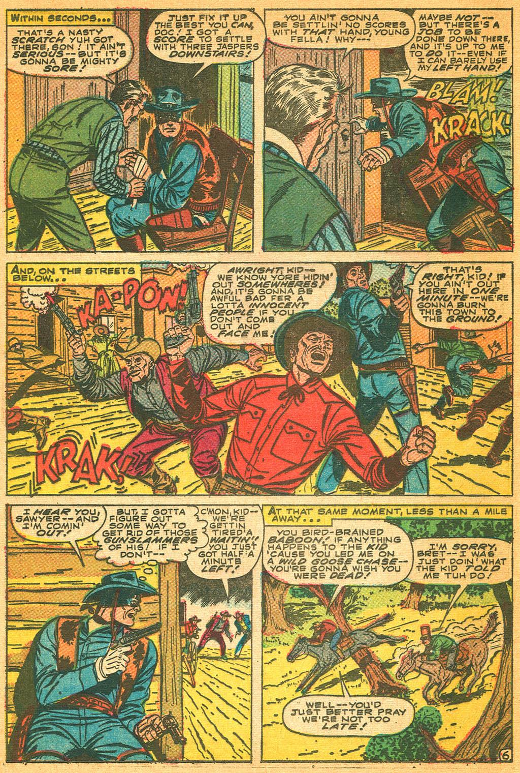 Read online Two-Gun Kid comic -  Issue #87 - 20
