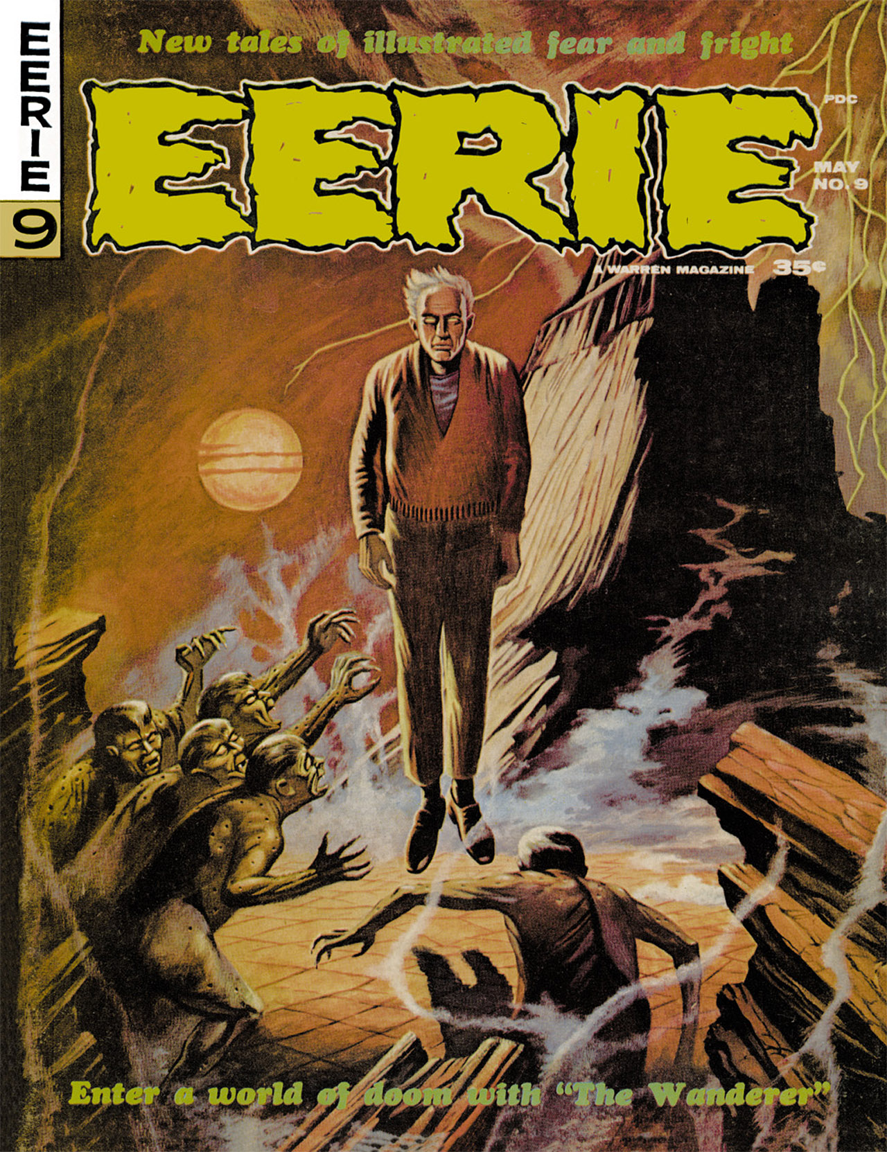 Read online Eerie Archives comic -  Issue # TPB 2 - 176