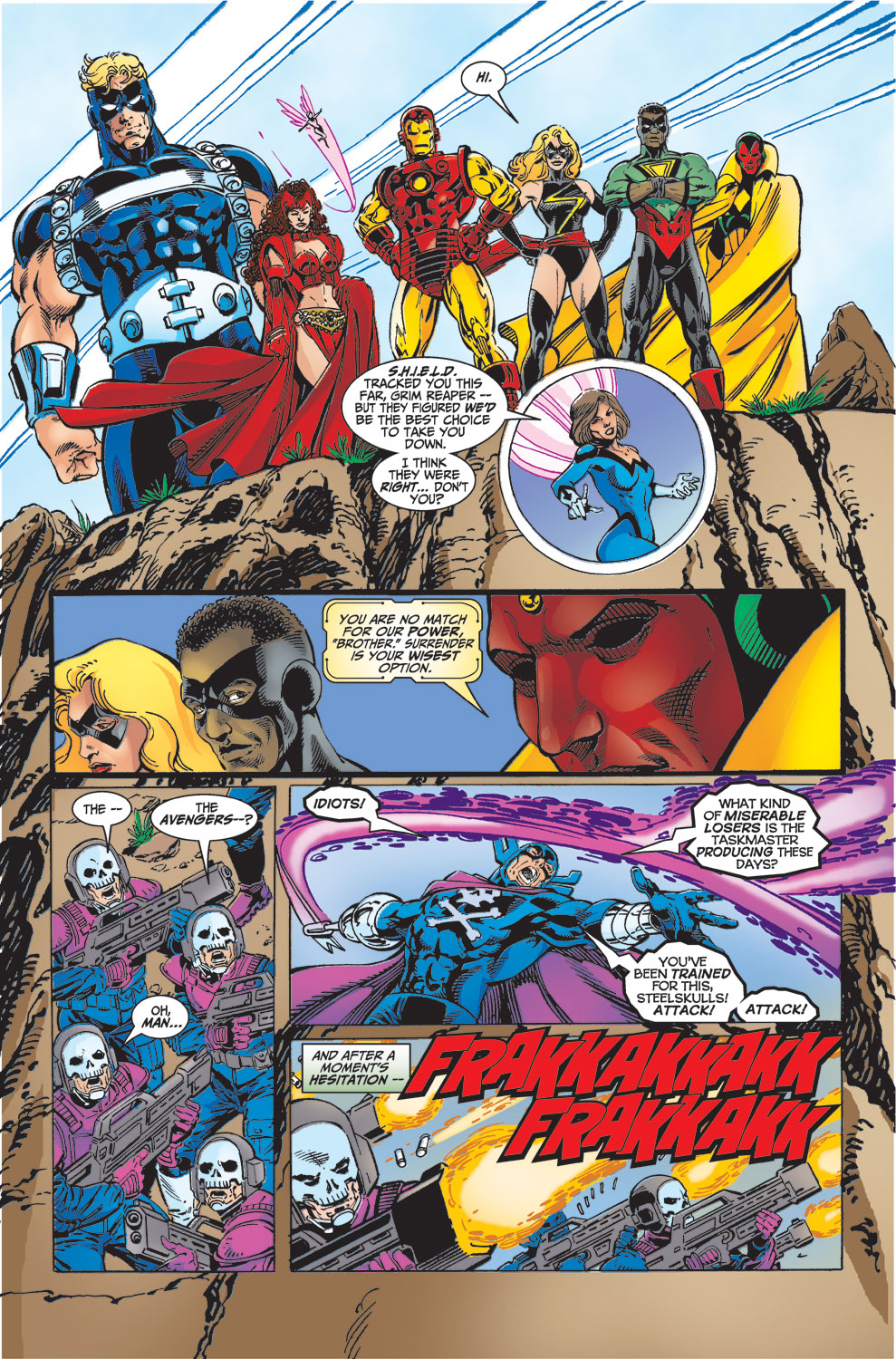 Read online Avengers (1998) comic -  Issue #32 - 18