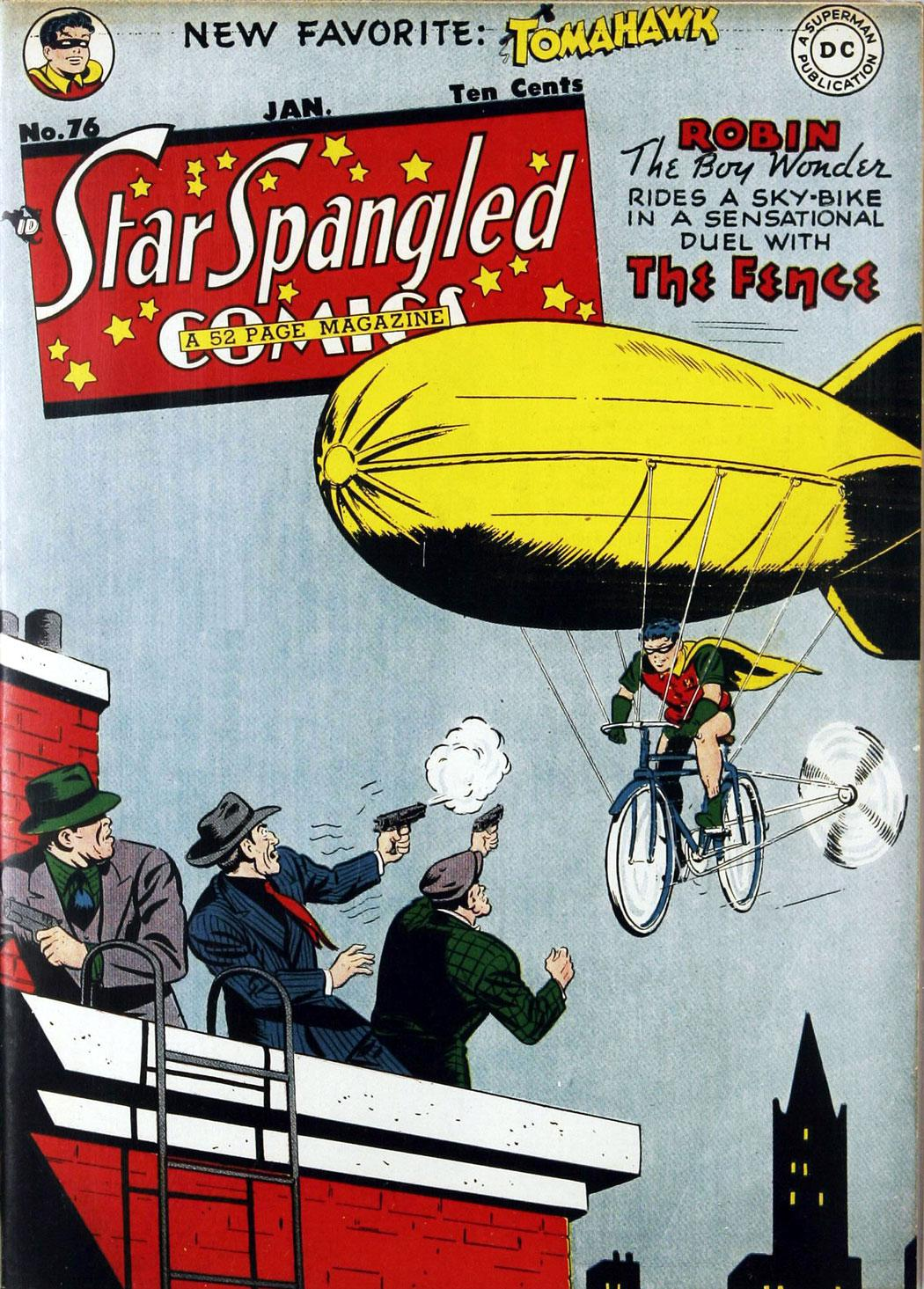 Star Spangled Comics (1941) issue 76 - Page 1