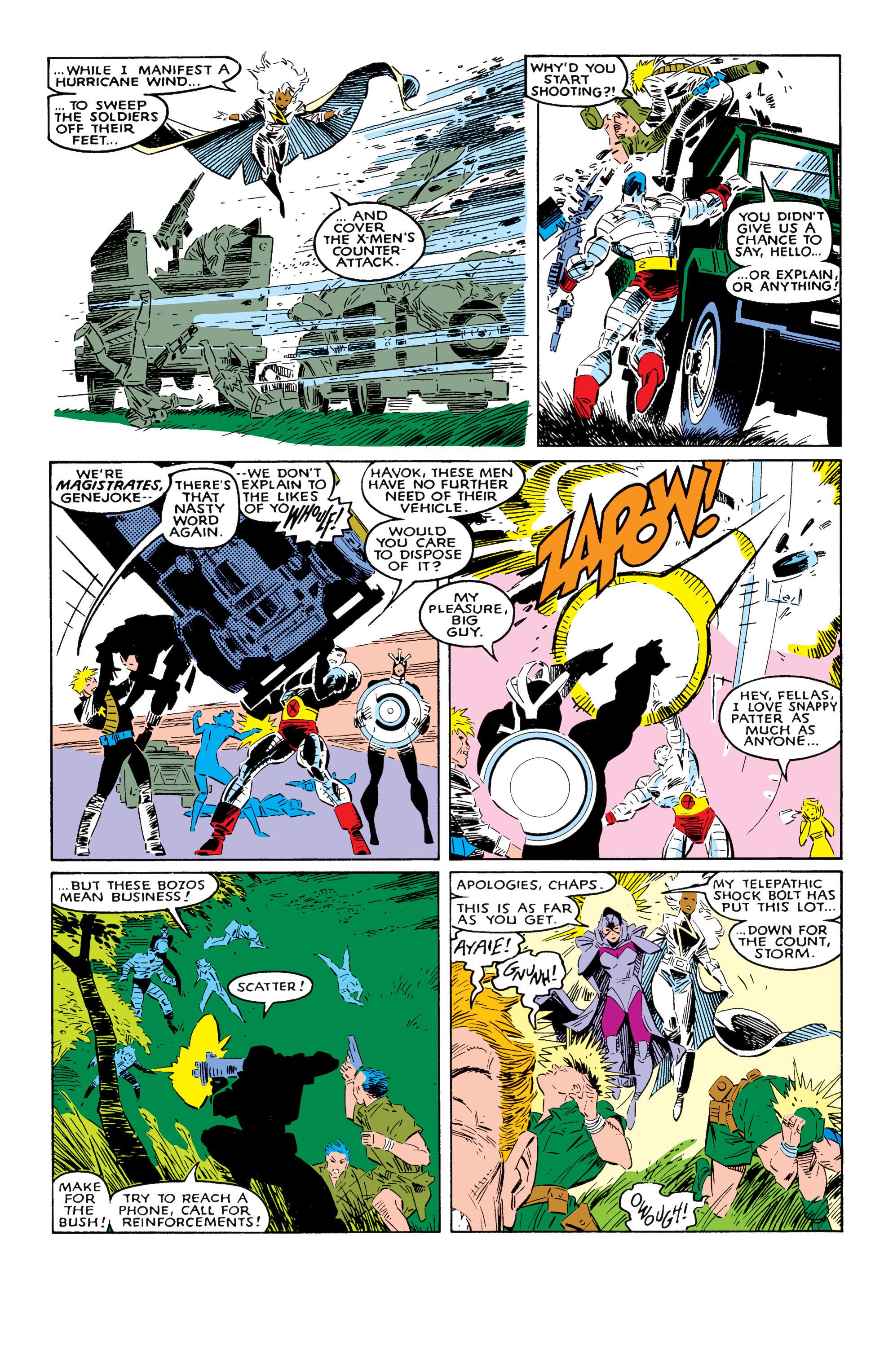 Read online Uncanny X-Men (1963) comic -  Issue #237 - 17