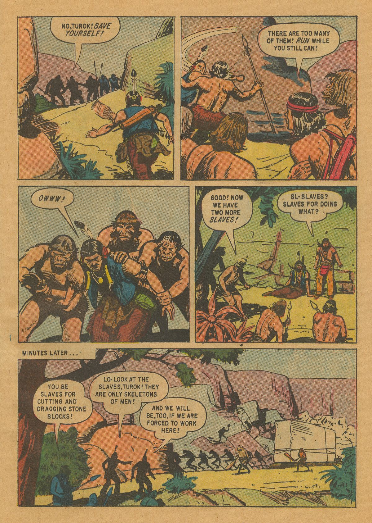 Read online Turok, Son of Stone comic -  Issue #22 - 25