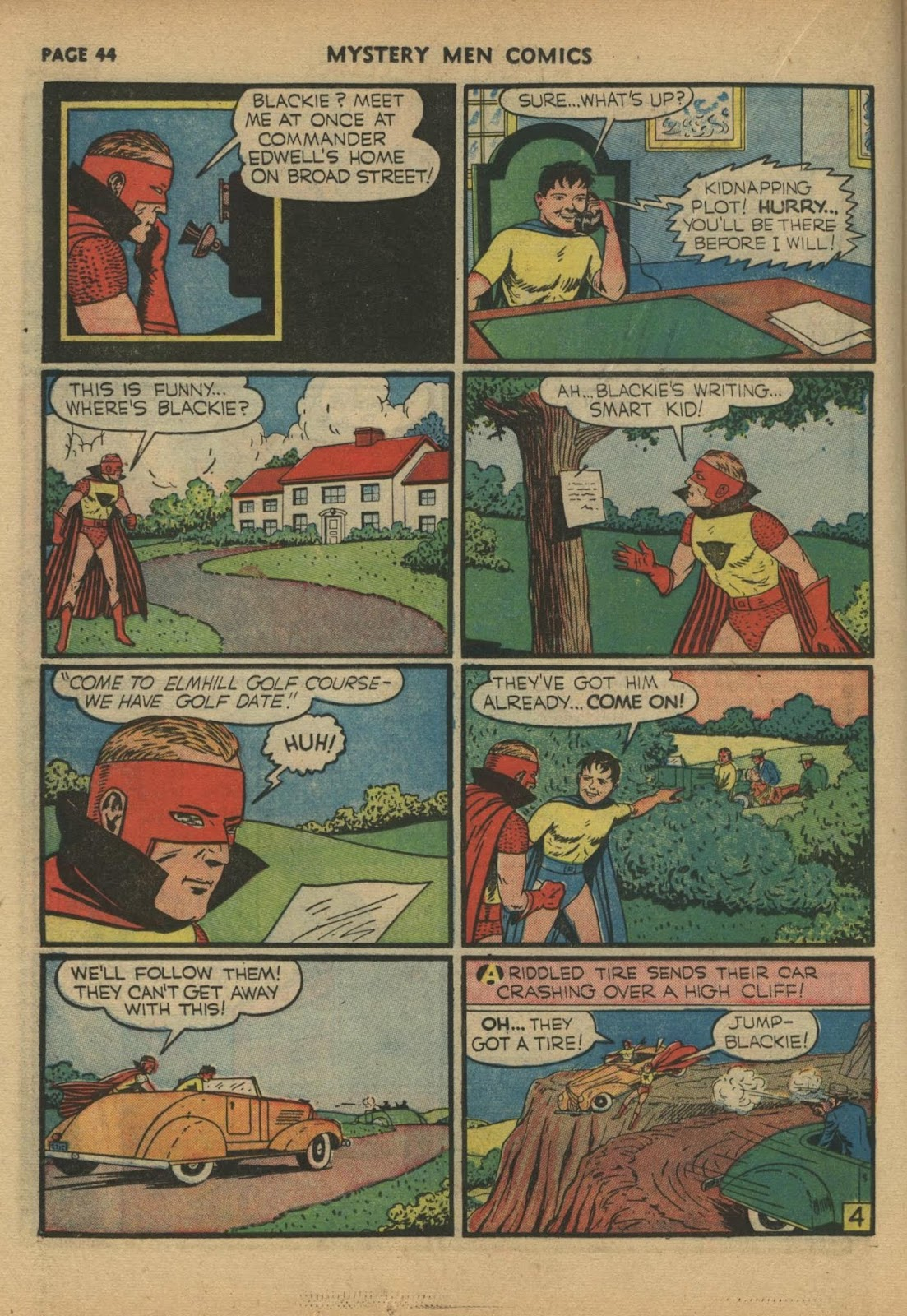 Mystery Men Comics issue 17 - Page 46