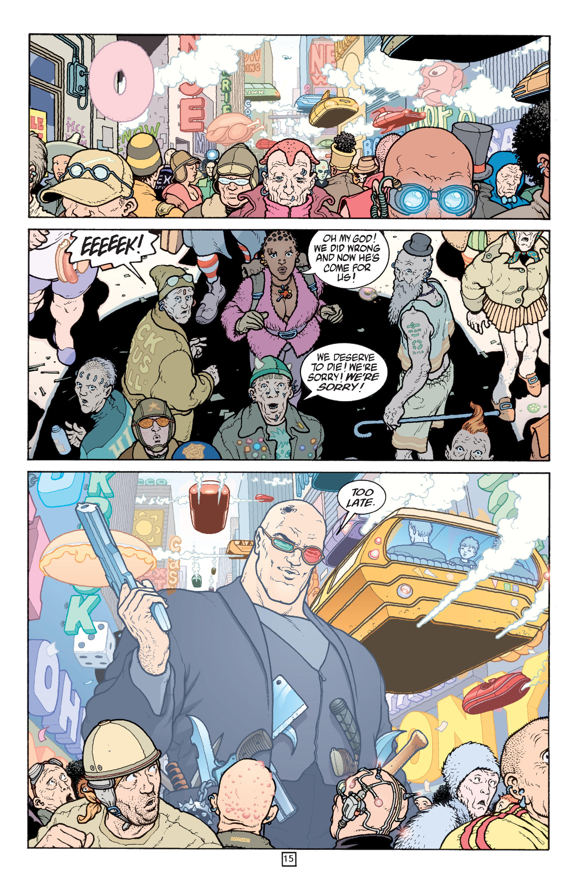 Read online Transmetropolitan comic -  Issue #31 - 16