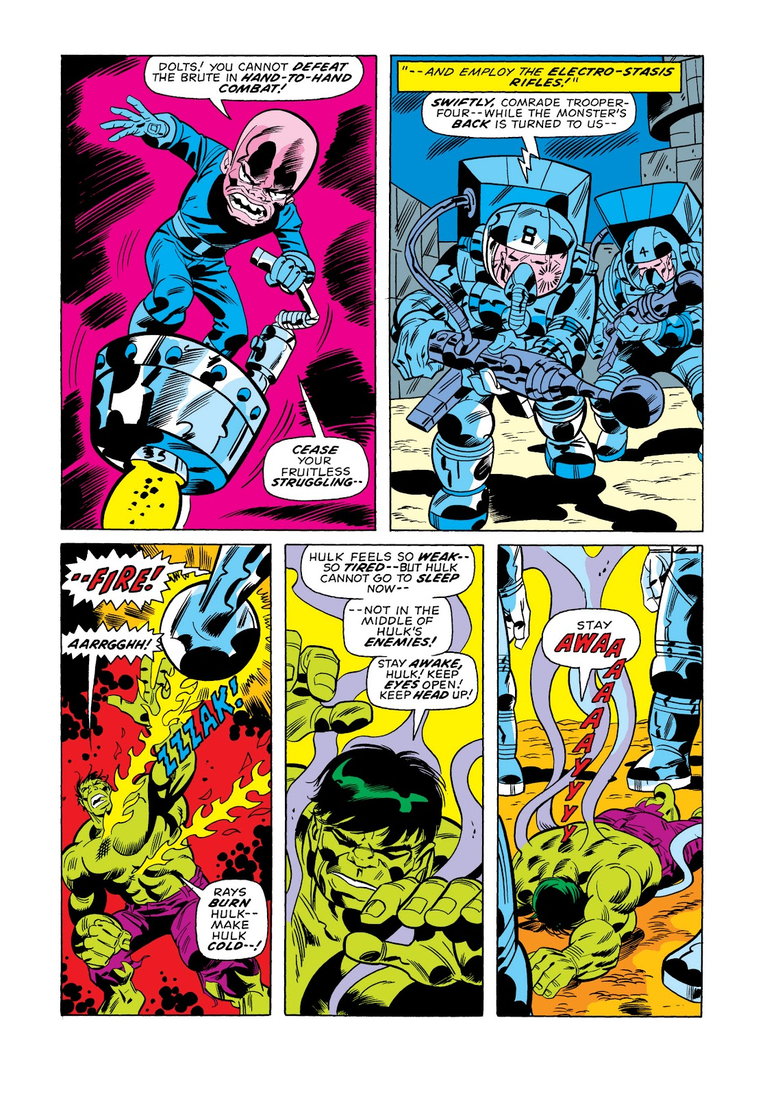 Read online Marvel Masterworks: The Incredible Hulk comic -  Issue # TPB 11 (Part 1) - 80