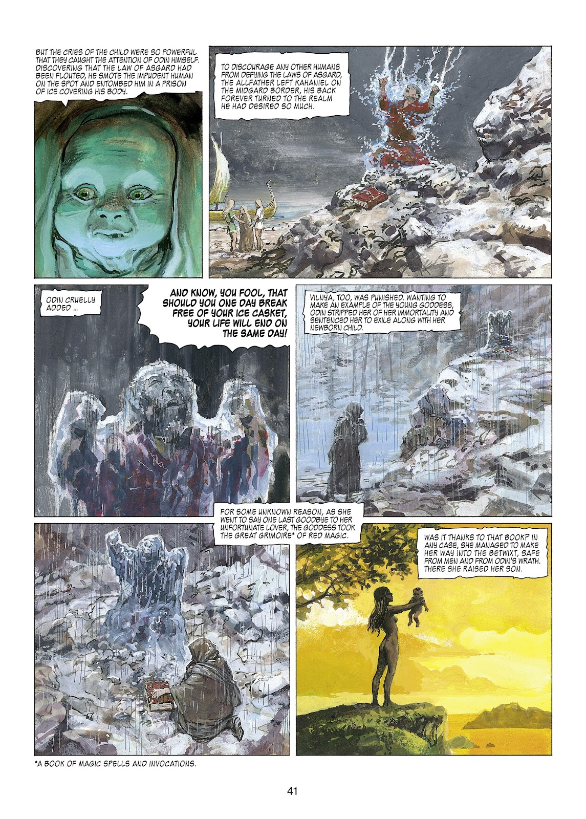 Read online Thorgal comic -  Issue #22 - 43