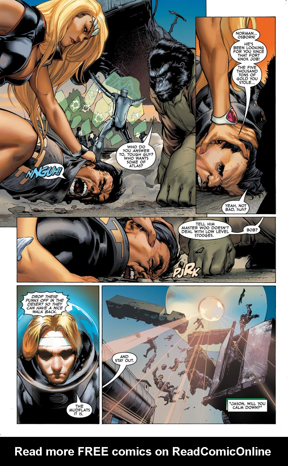 Read online Agents Of Atlas (2009) comic -  Issue #1 - 7