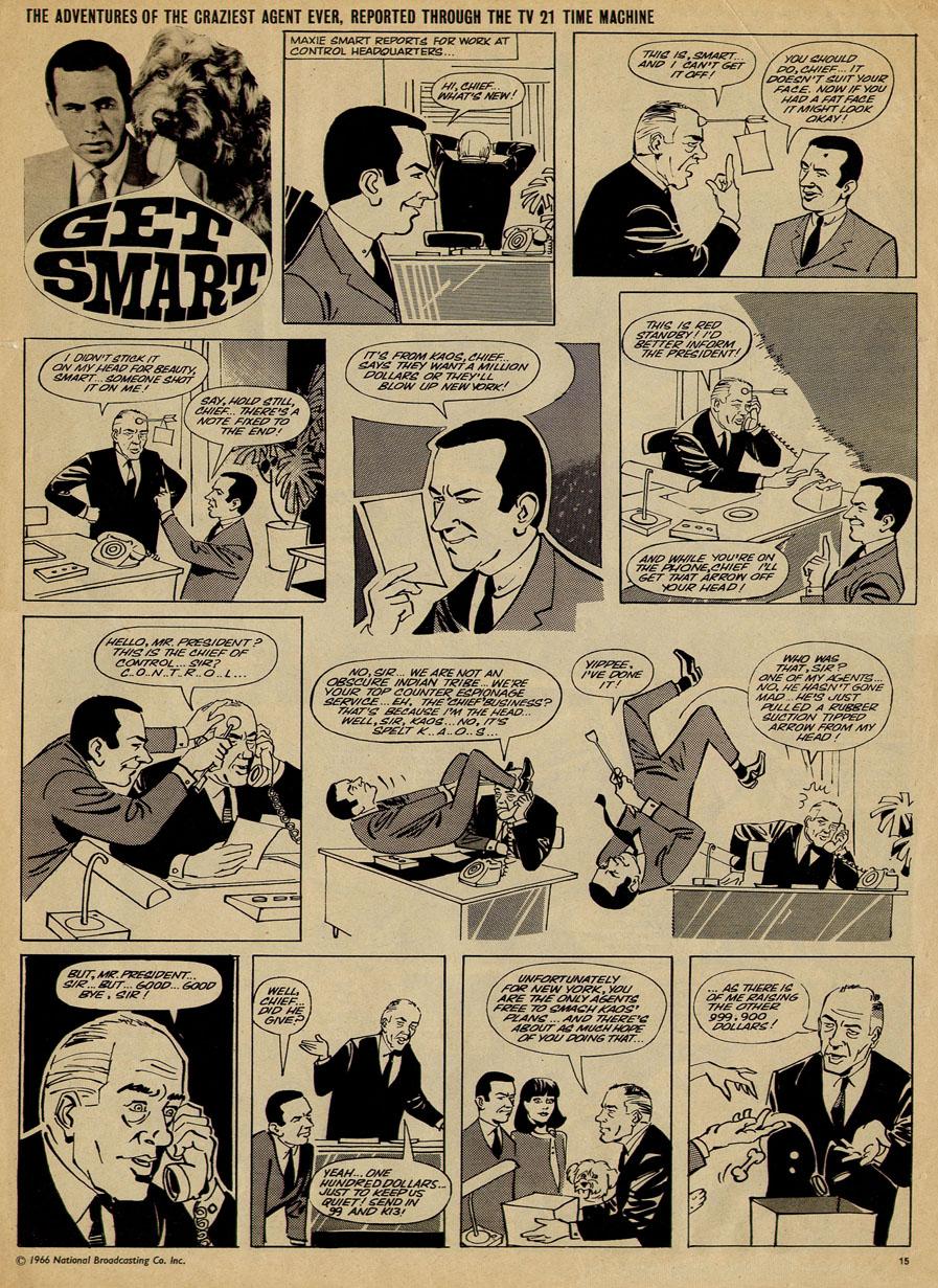 Read online TV Century 21 (TV 21) comic -  Issue #71 - 14