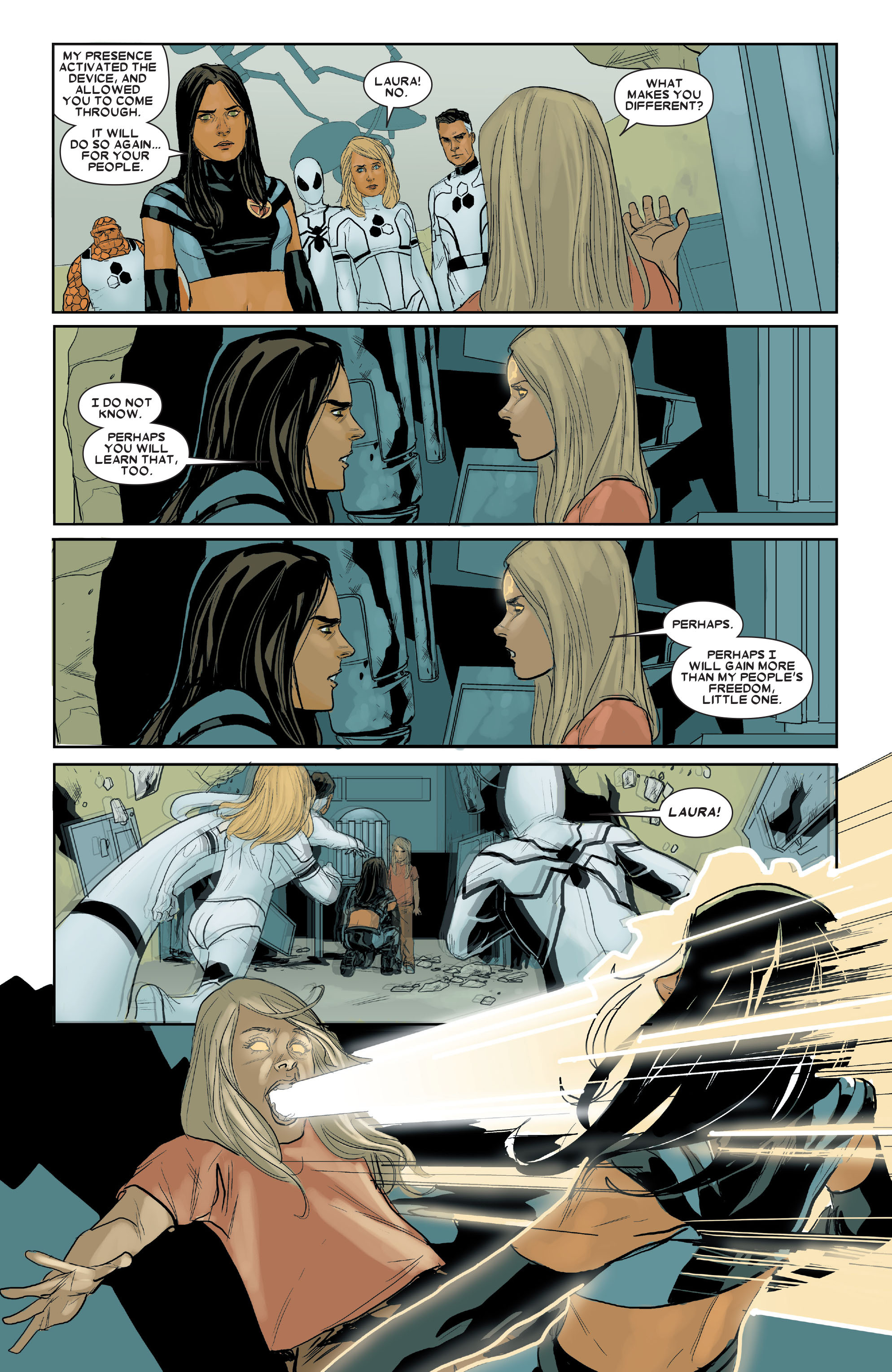 Read online X-23 (2010) comic -  Issue #16 - 5