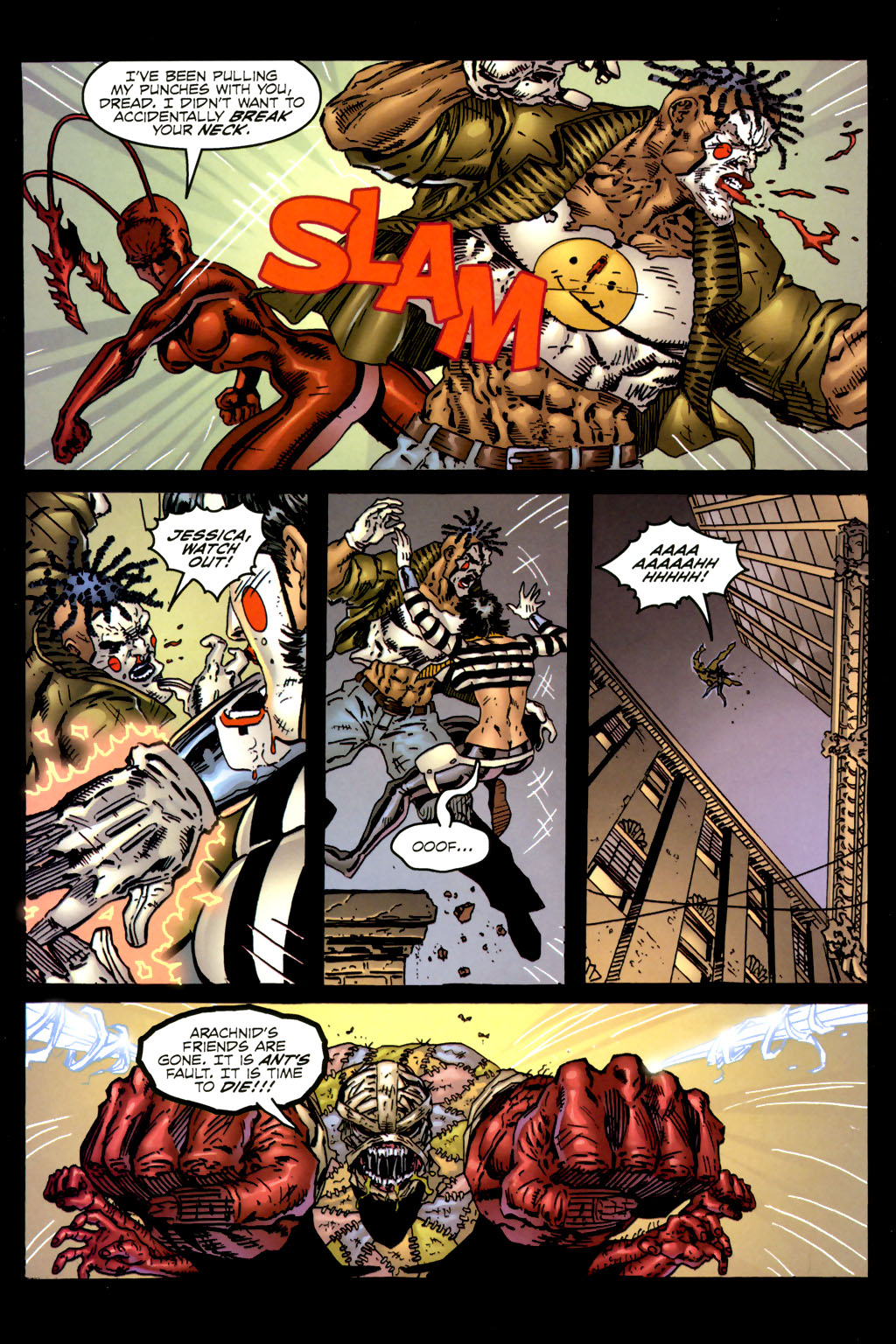 Read online Ant comic -  Issue #2 - 12