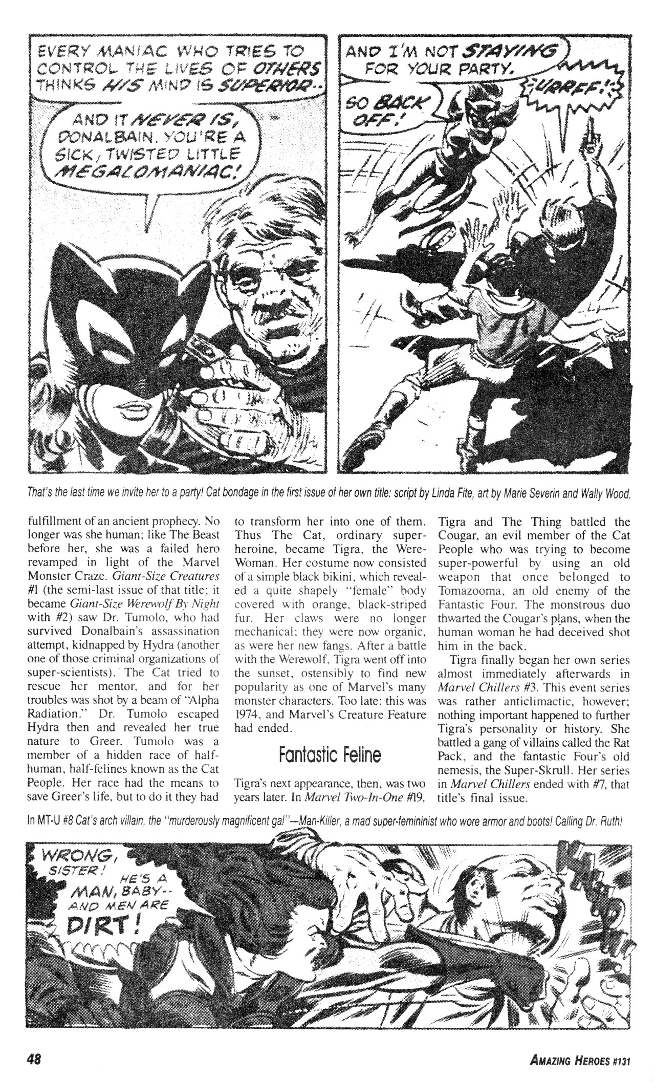 Read online Amazing Heroes comic -  Issue #131 - 48