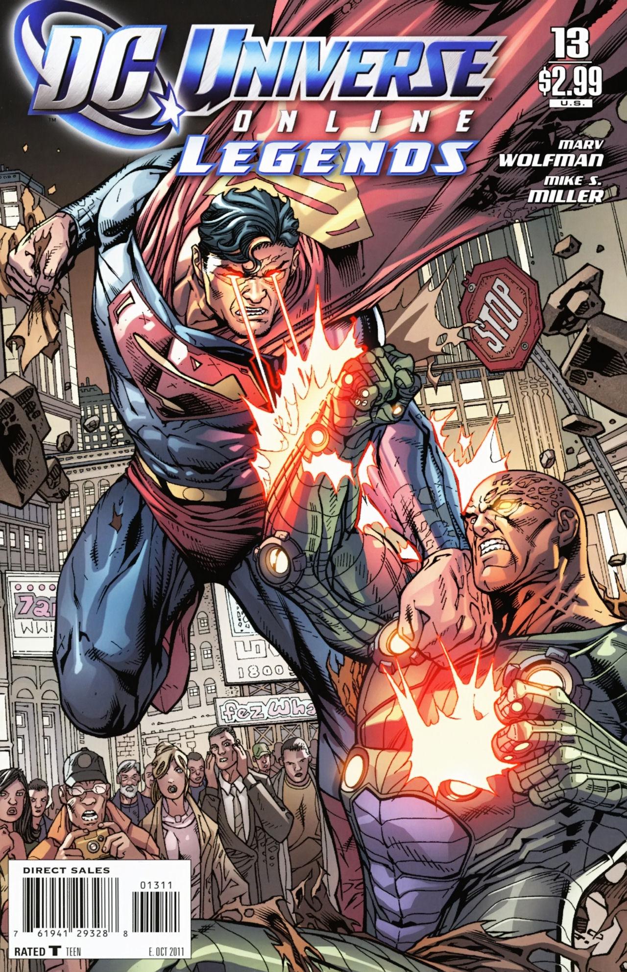DC Universe Online: Legends 13 Page 1