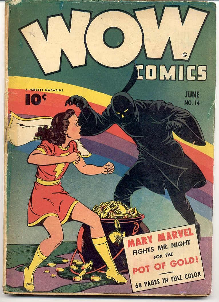 Wow Comics 14 Page 1