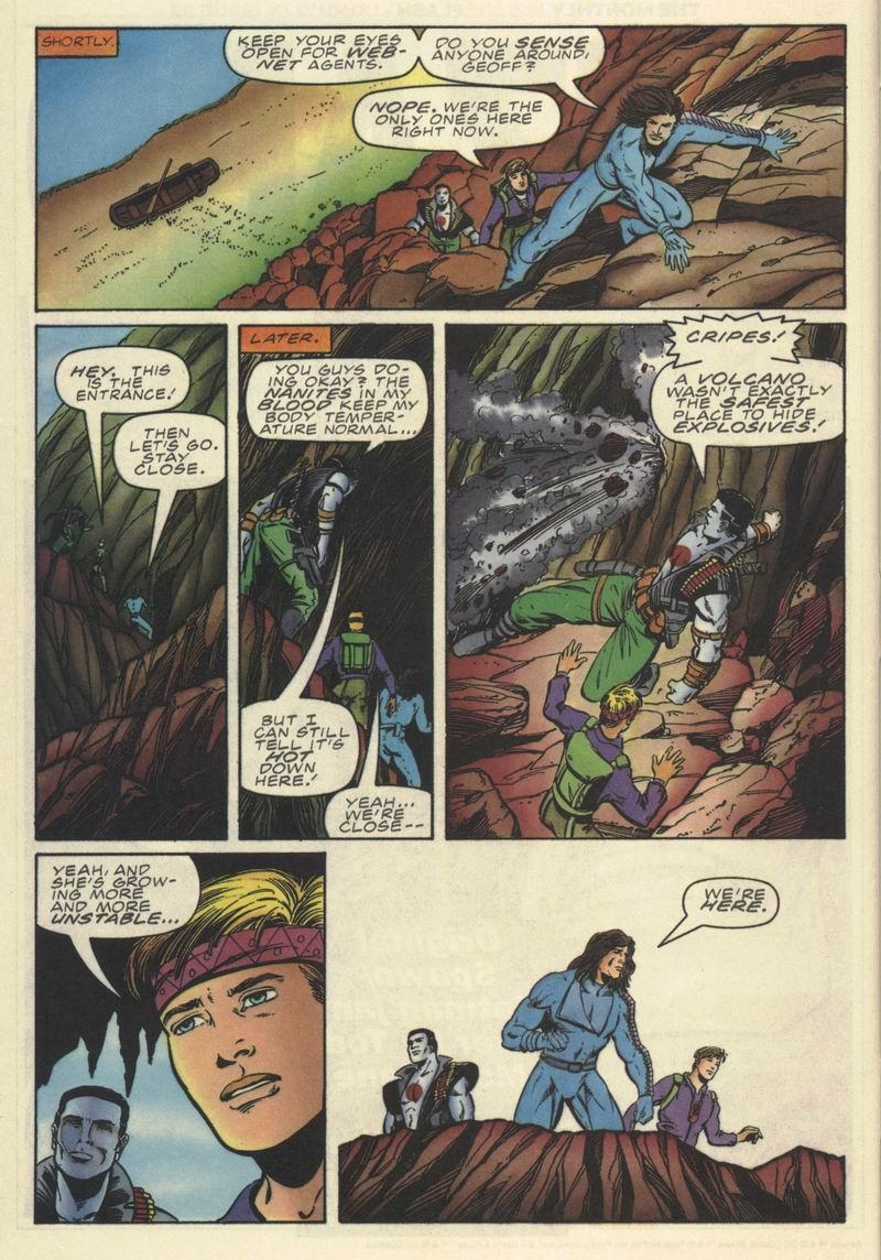 Read online Secret Weapons comic -  Issue #9 - 20