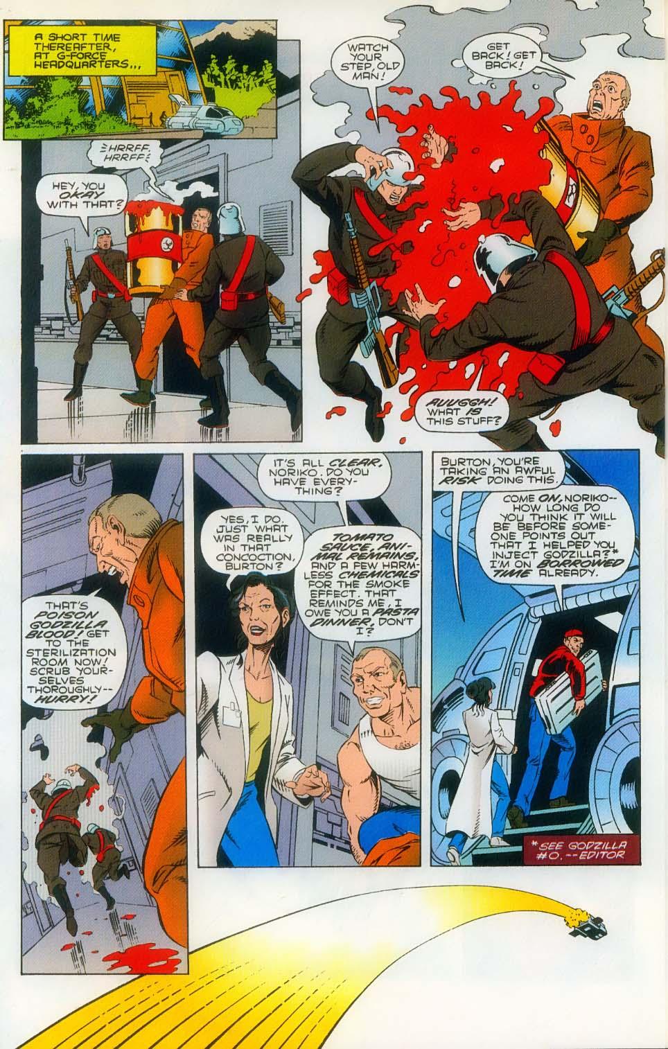 Godzilla (1995) Issue #3 #4 - English 16