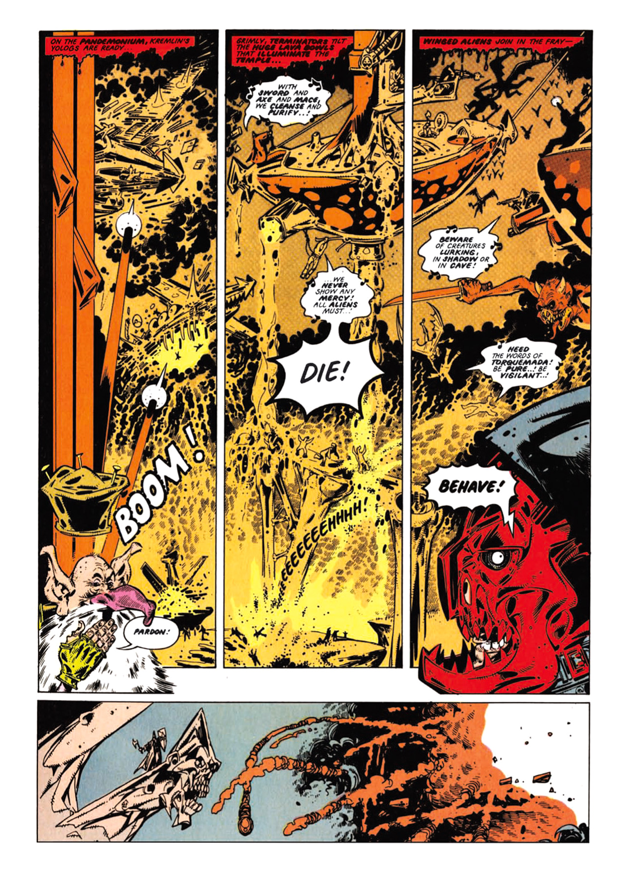 Read online Nemesis The Warlock comic -  Issue # TPB Deviant Edition - 83