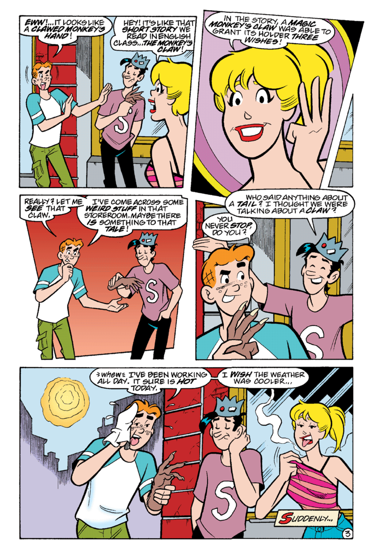 Read online Archie's Weird Mysteries comic -  Issue #21 - 16