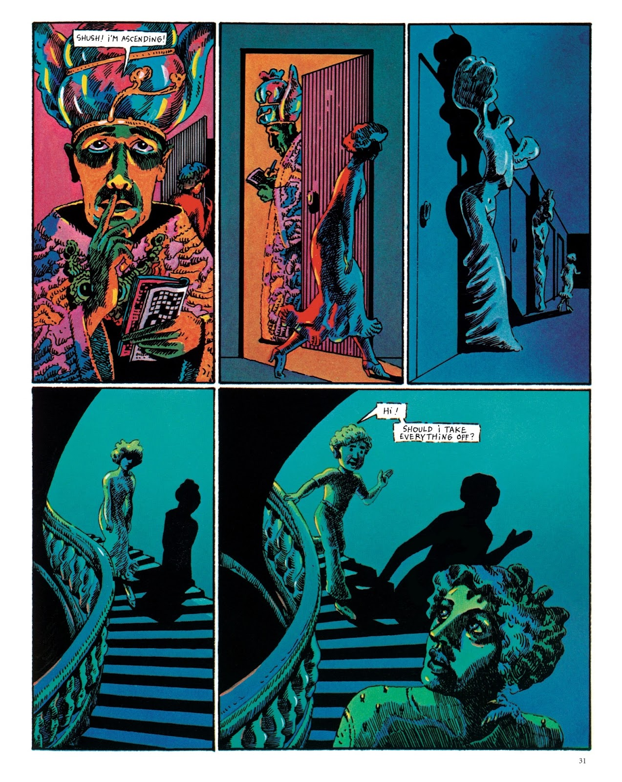 Read online The Green Hand and Other Stories comic -  Issue # TPB - 30
