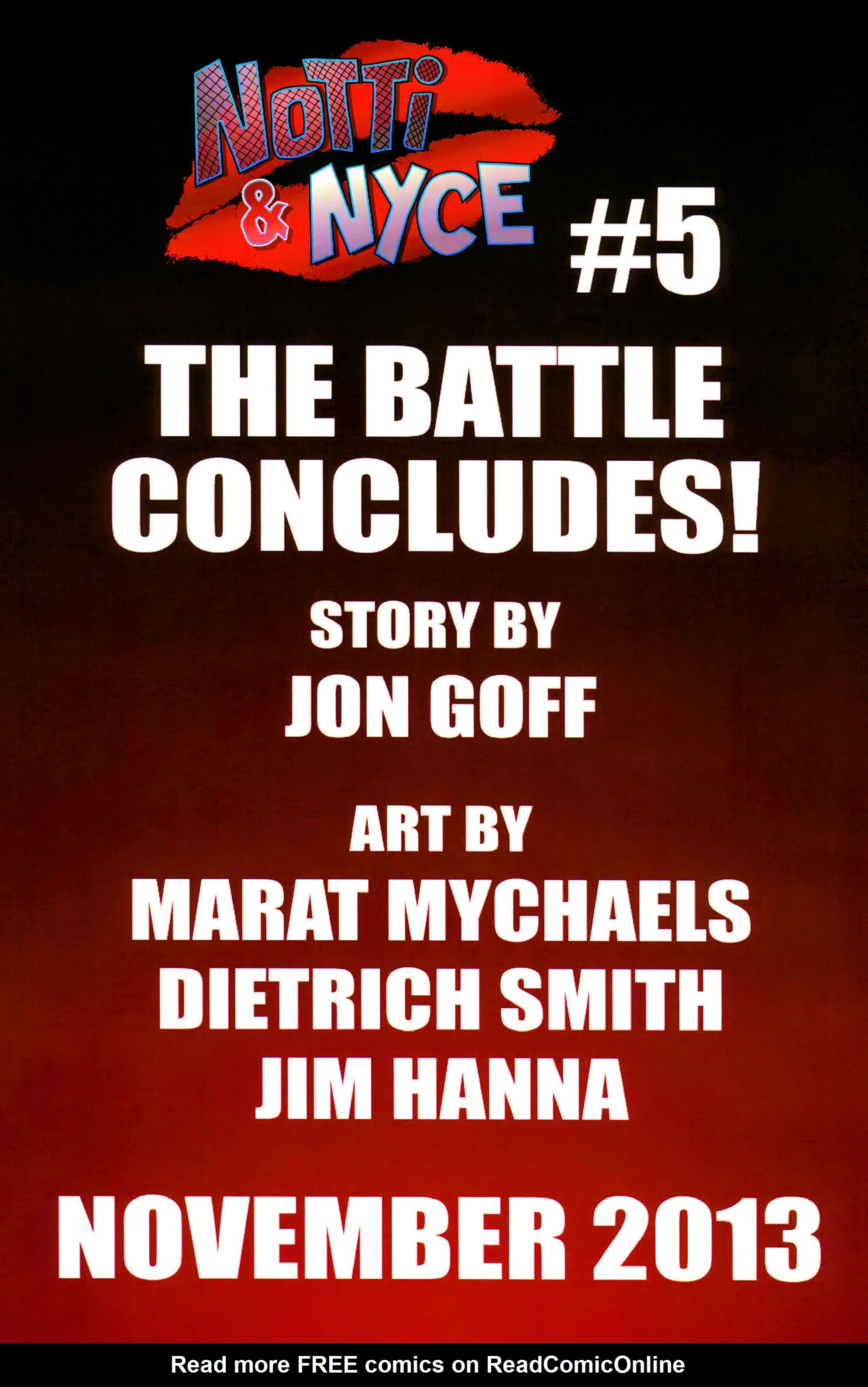 Read online Notti & Nyce comic -  Issue #4 - 18