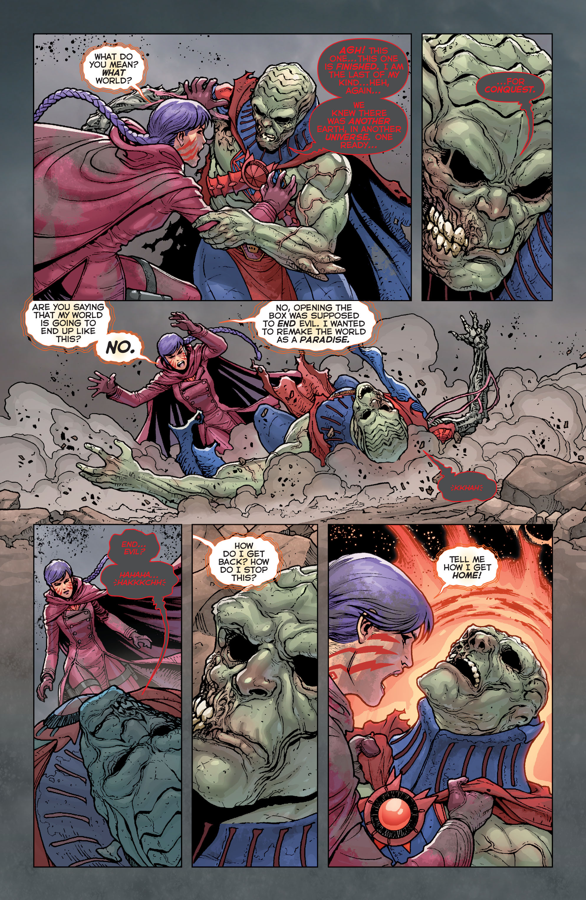 Read online Trinity of Sin: Pandora comic -  Issue #4 - 5