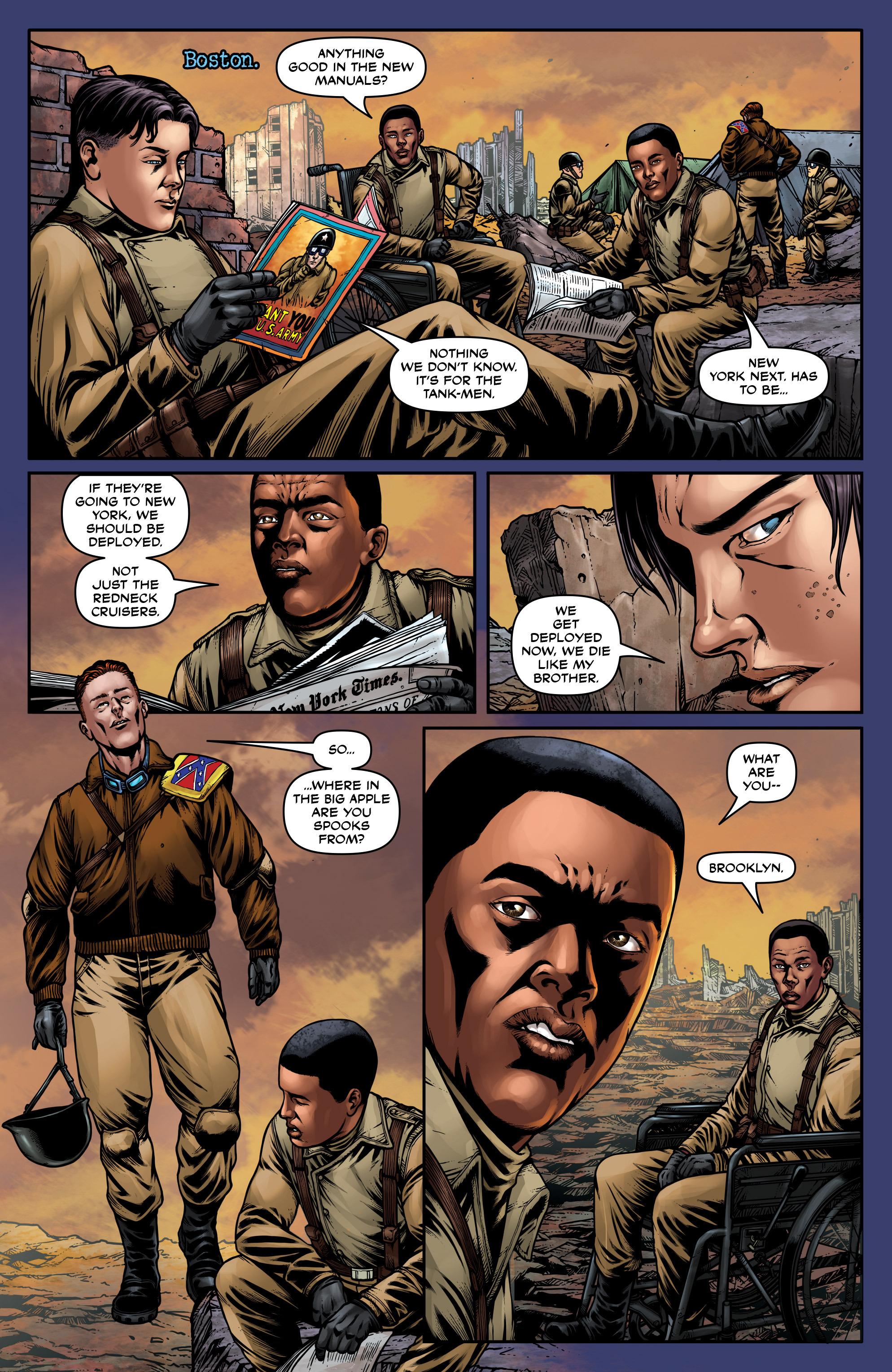 Read online Uber: Invasion comic -  Issue #5 - 10