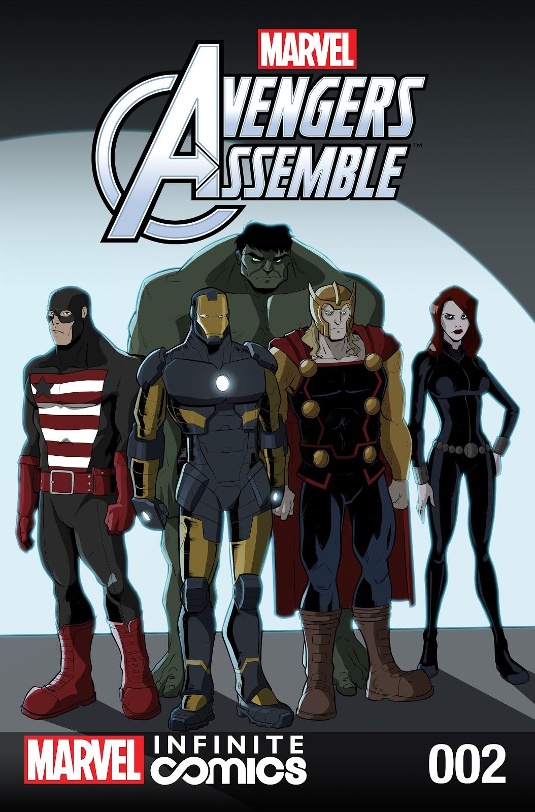 Marvel Universe Avengers Infinite Comic 2 Page 1