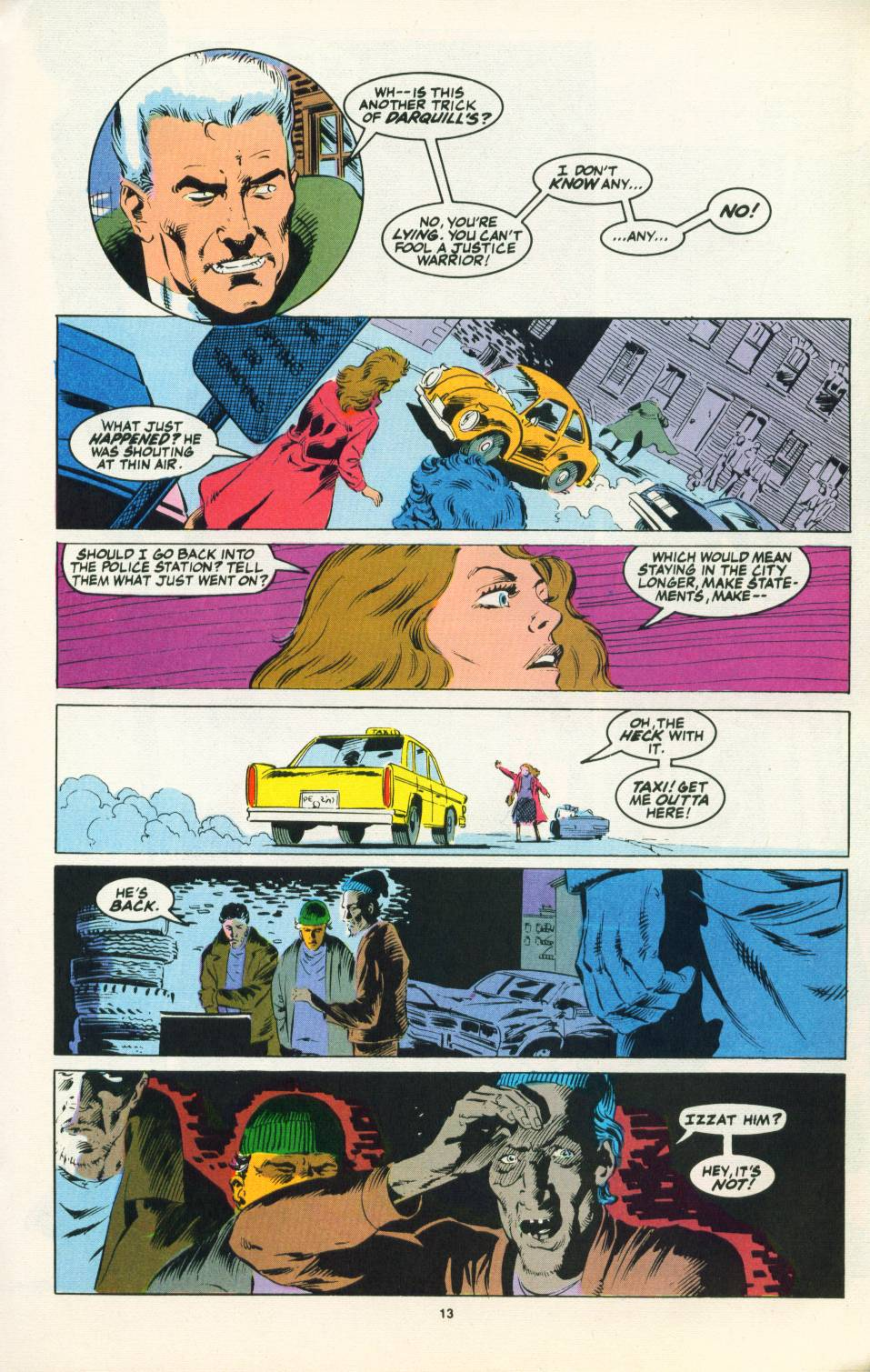 Read online Justice (1986) comic -  Issue #22 - 14