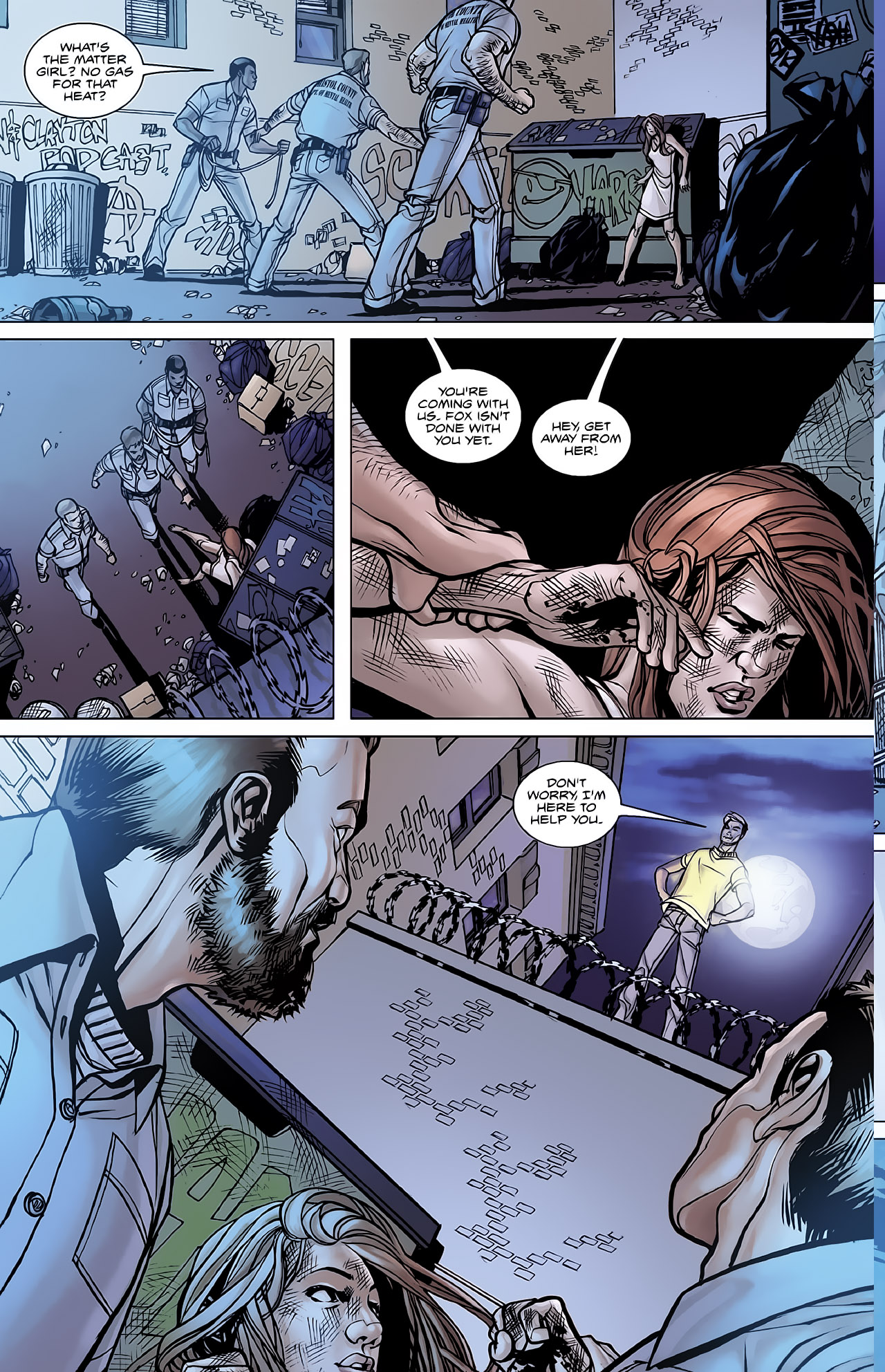Read online Magus comic -  Issue #2 - 6
