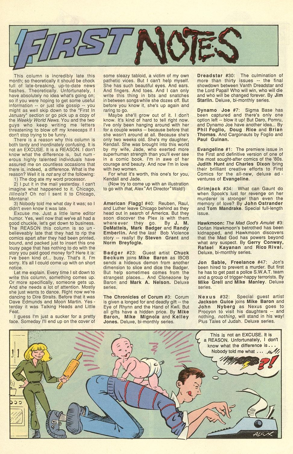 Read online American Flagg! comic -  Issue #40 - 14