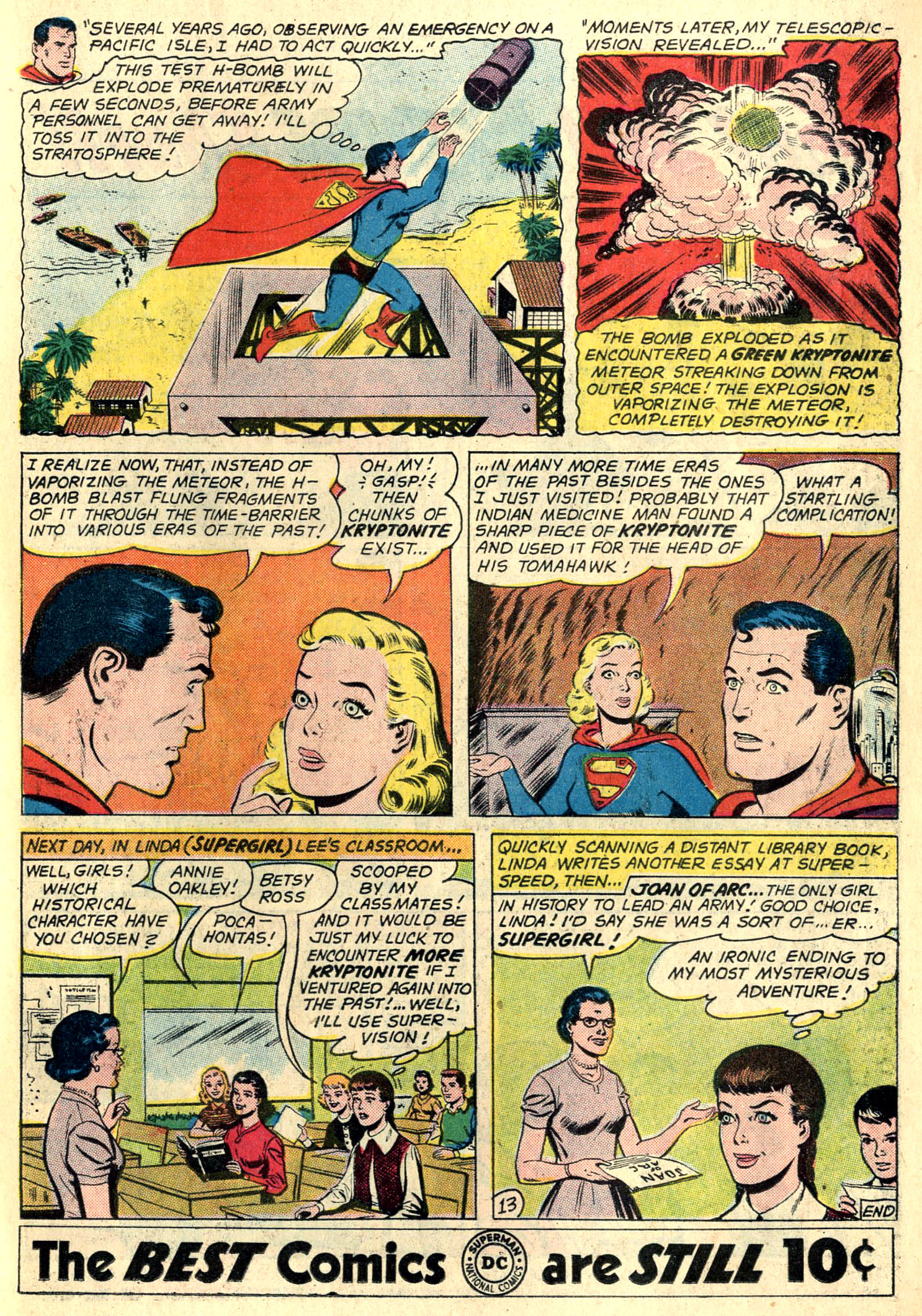 Read online Action Comics (1938) comic -  Issue #274 - 31