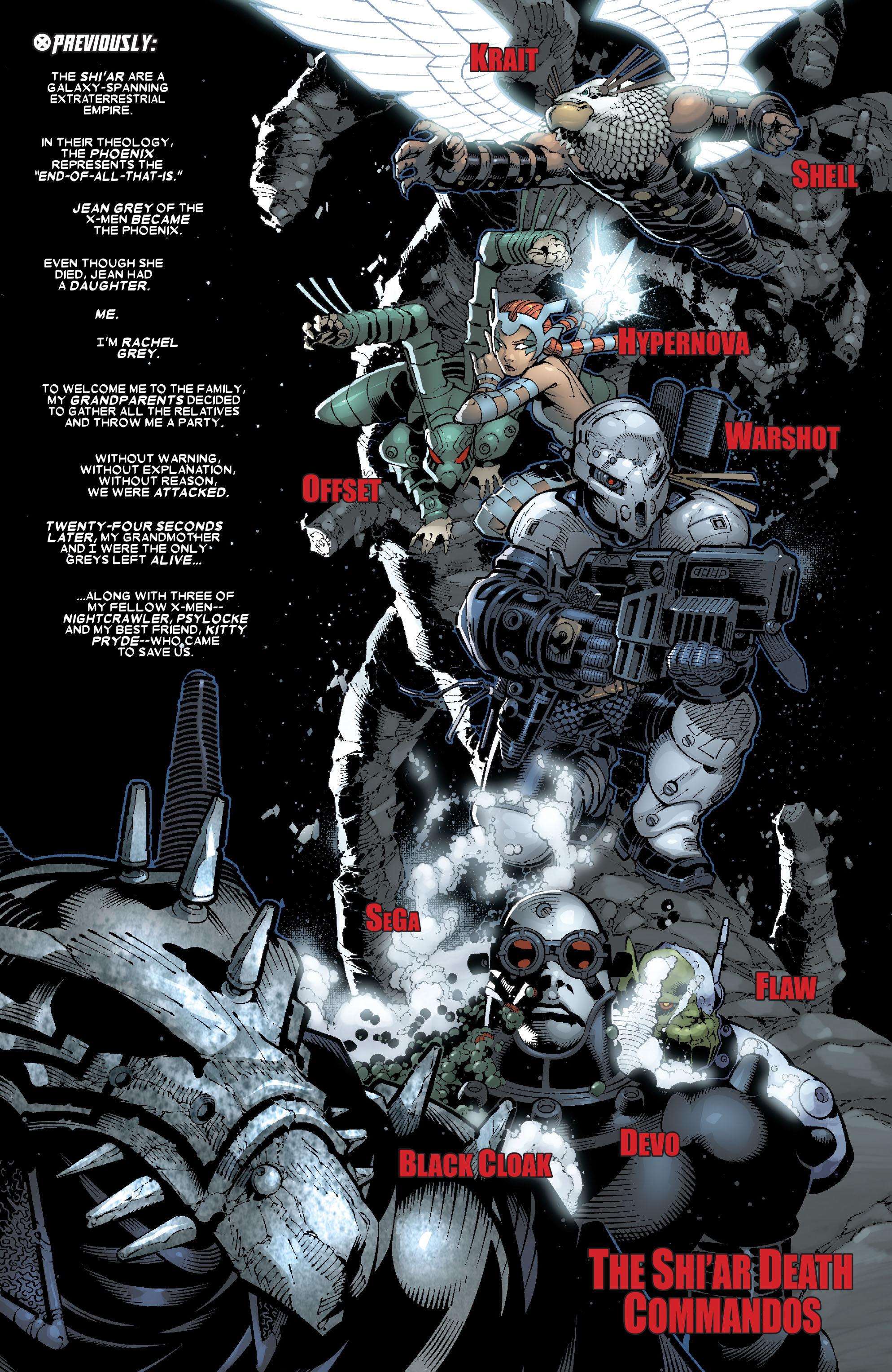 Read online Uncanny X-Men (1963) comic -  Issue #468 - 2